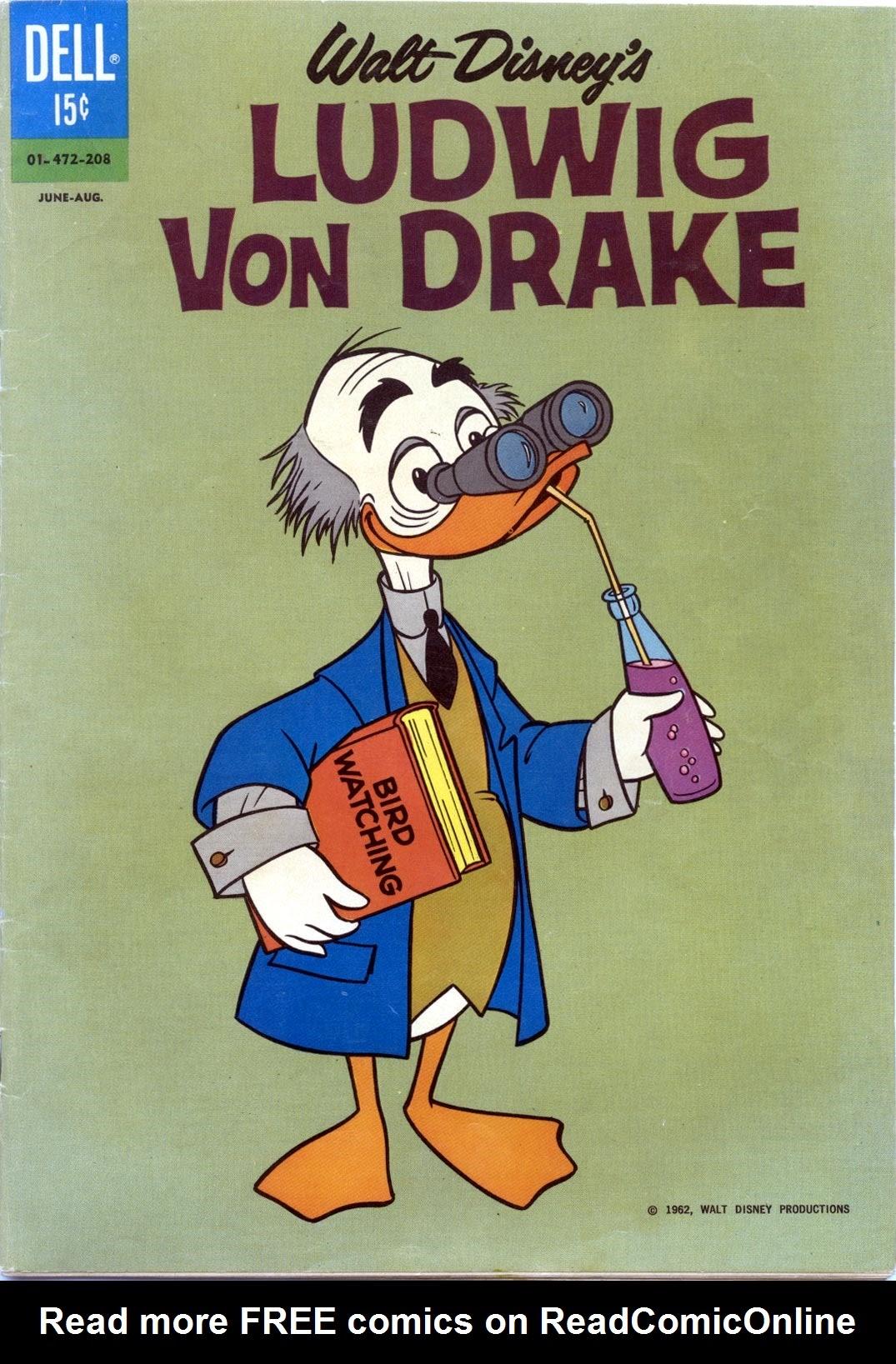 Walt Disneys Ludwig Von Drake 4 Page 1
