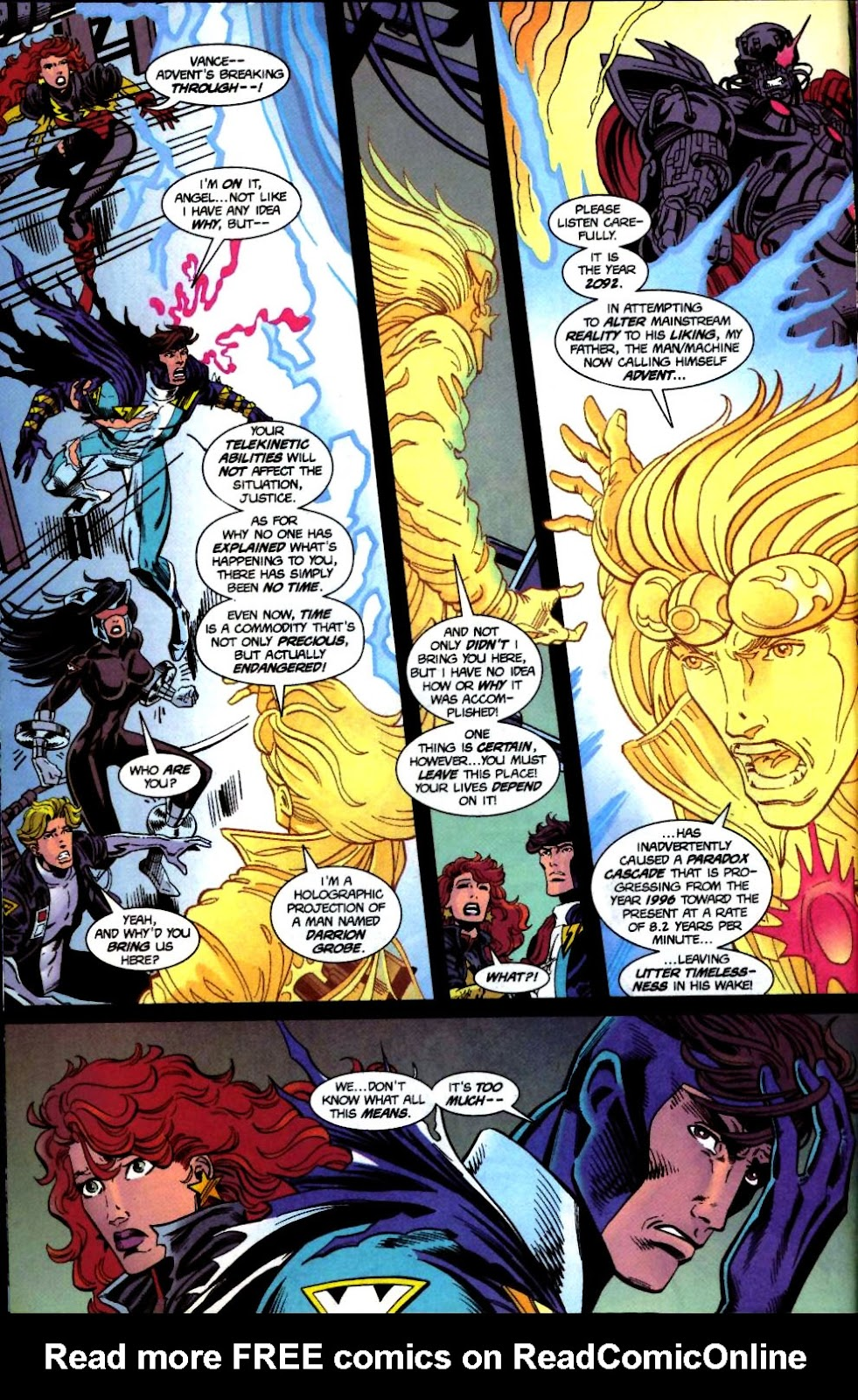 The New Warriors Issue #71 #75 - English 5