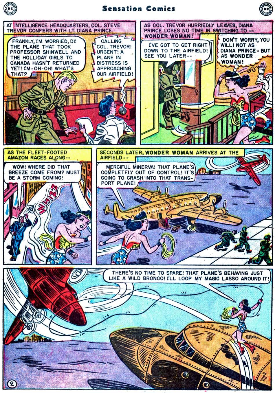 Read online Sensation (Mystery) Comics comic -  Issue #91 - 4