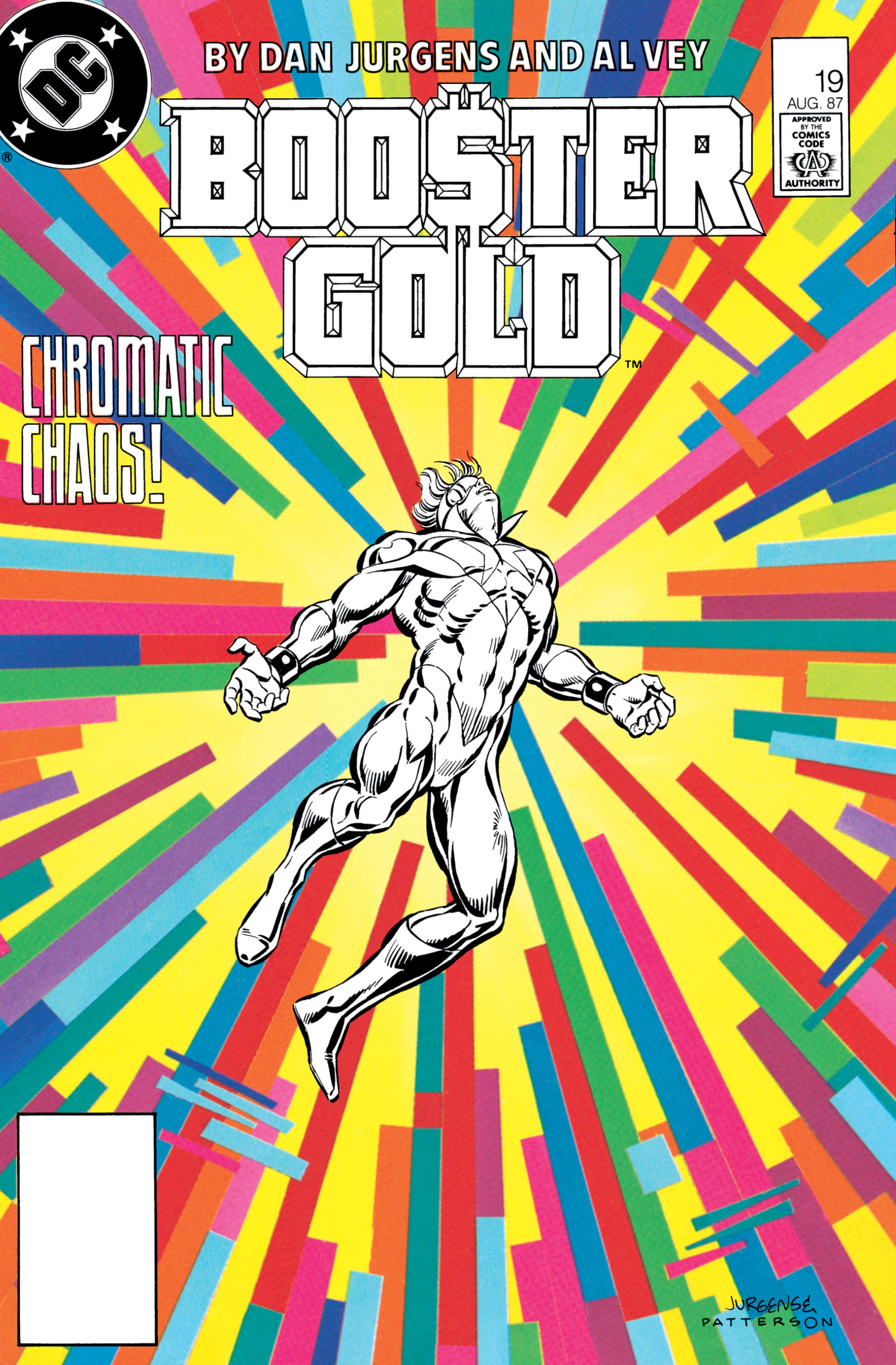 Booster Gold 1986 Issue 19