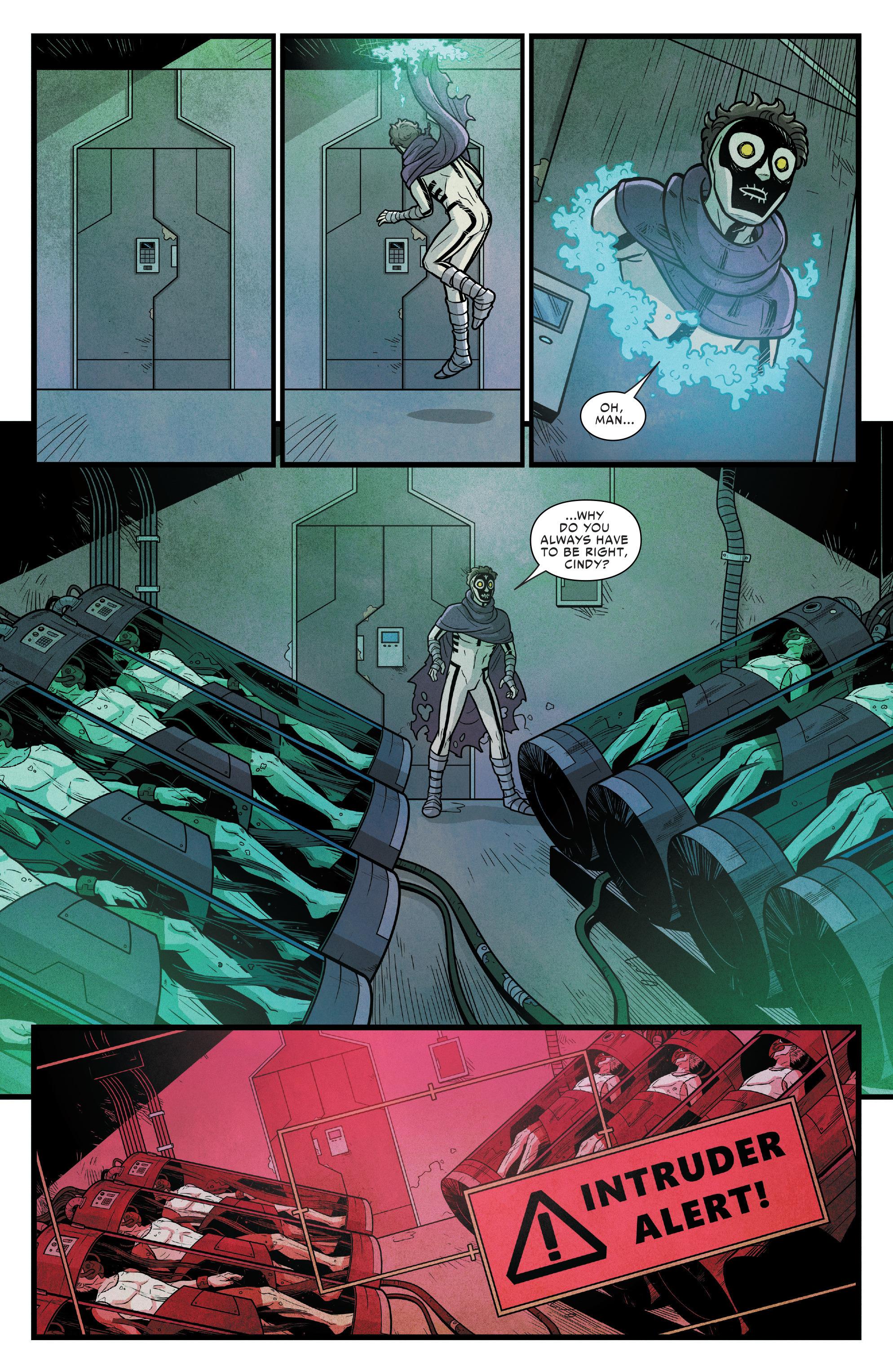 Read online Silk (2016) comic -  Issue #14 - 19