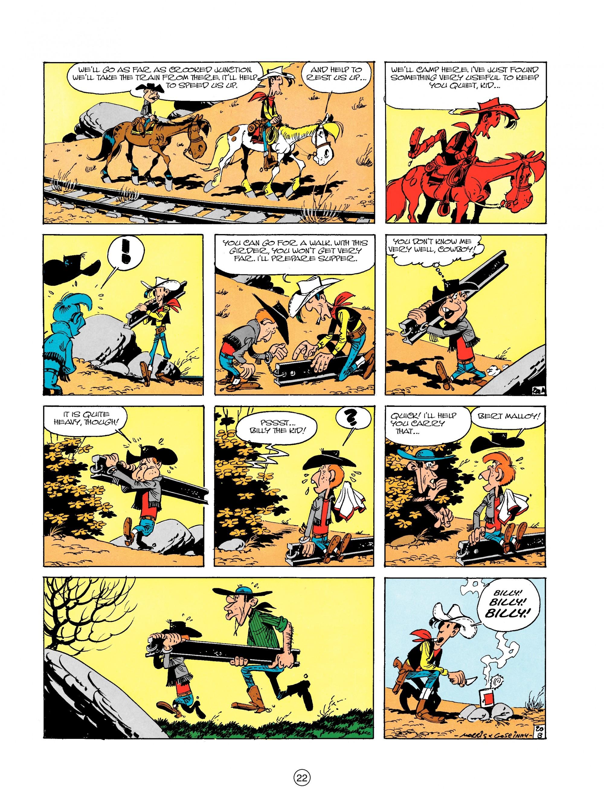 Read online A Lucky Luke Adventure comic -  Issue #18 - 22