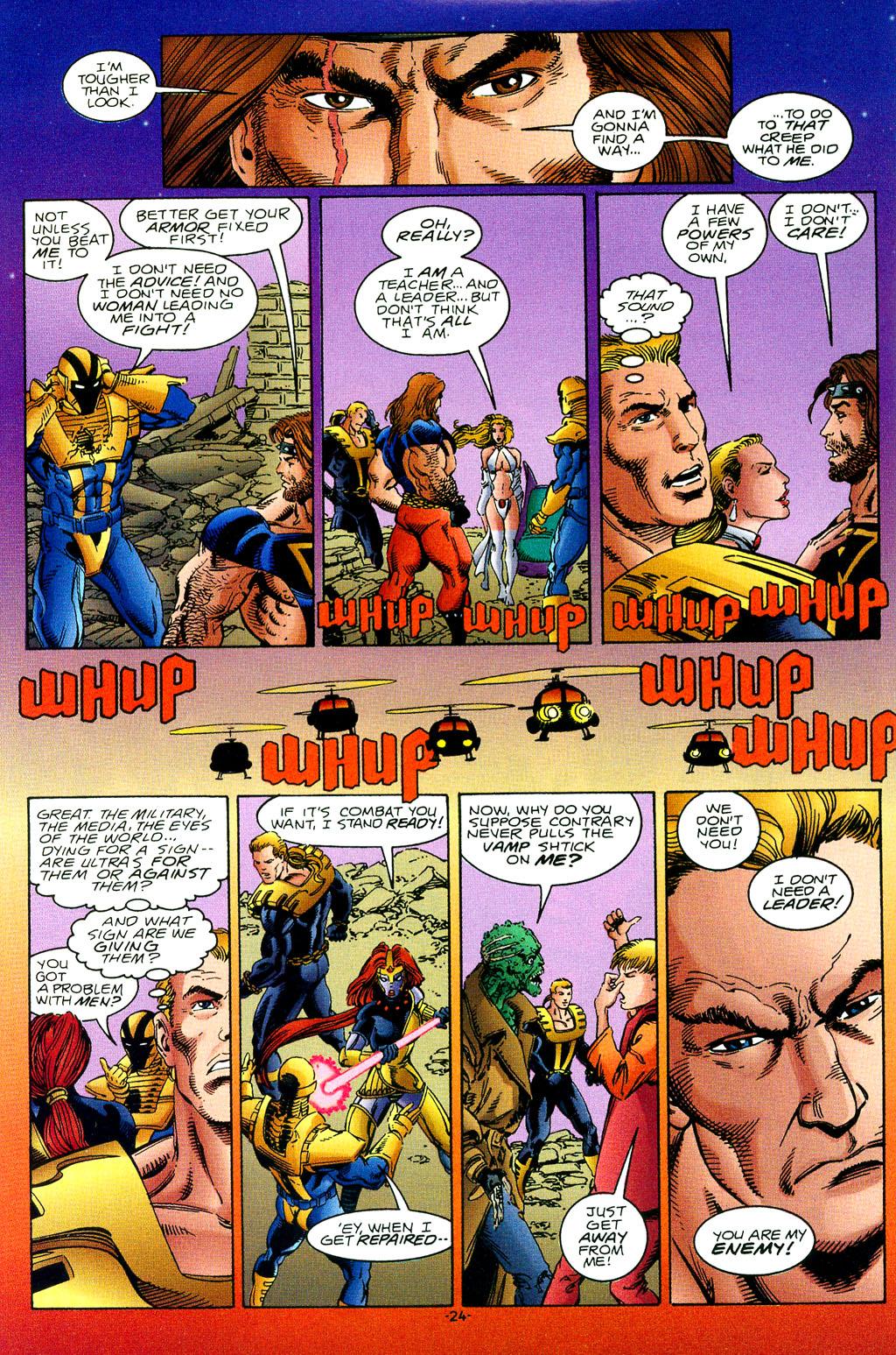 Read online UltraForce (1994) comic -  Issue #1 - 25