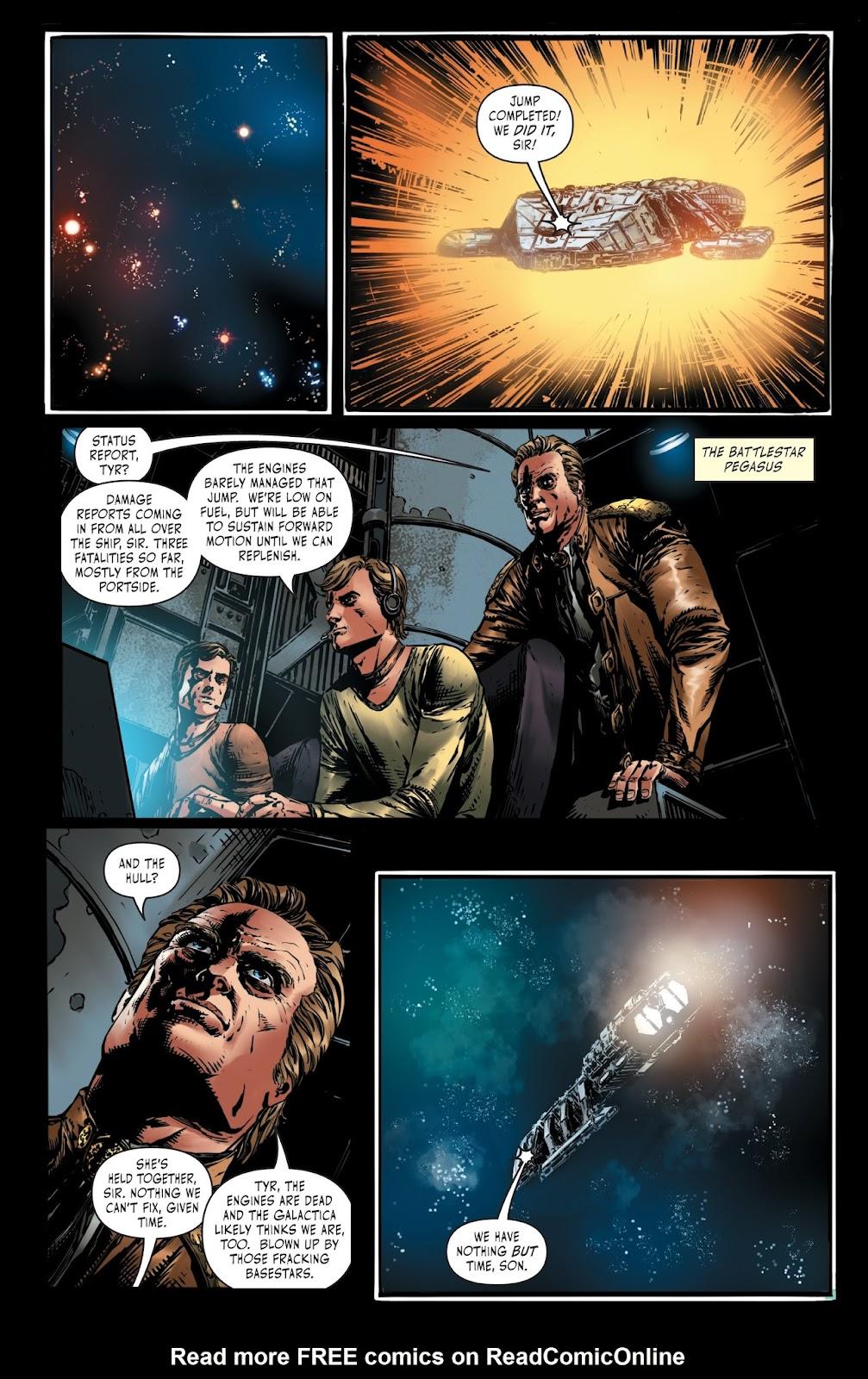 Battlestar Galactica BSG vs. BSG issue 1 - Page 5