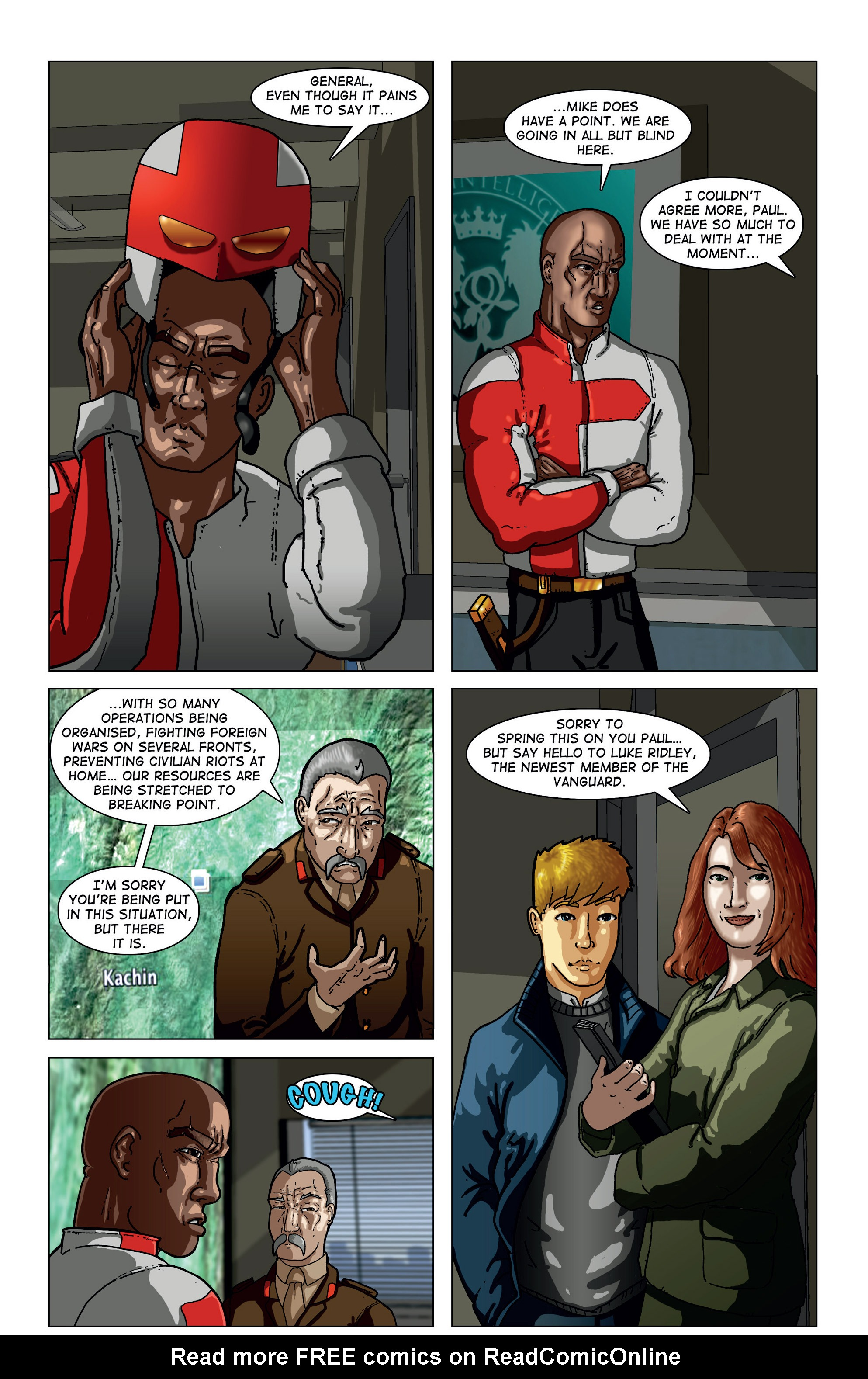 Read online Vanguard (2015) comic -  Issue #1 - 17