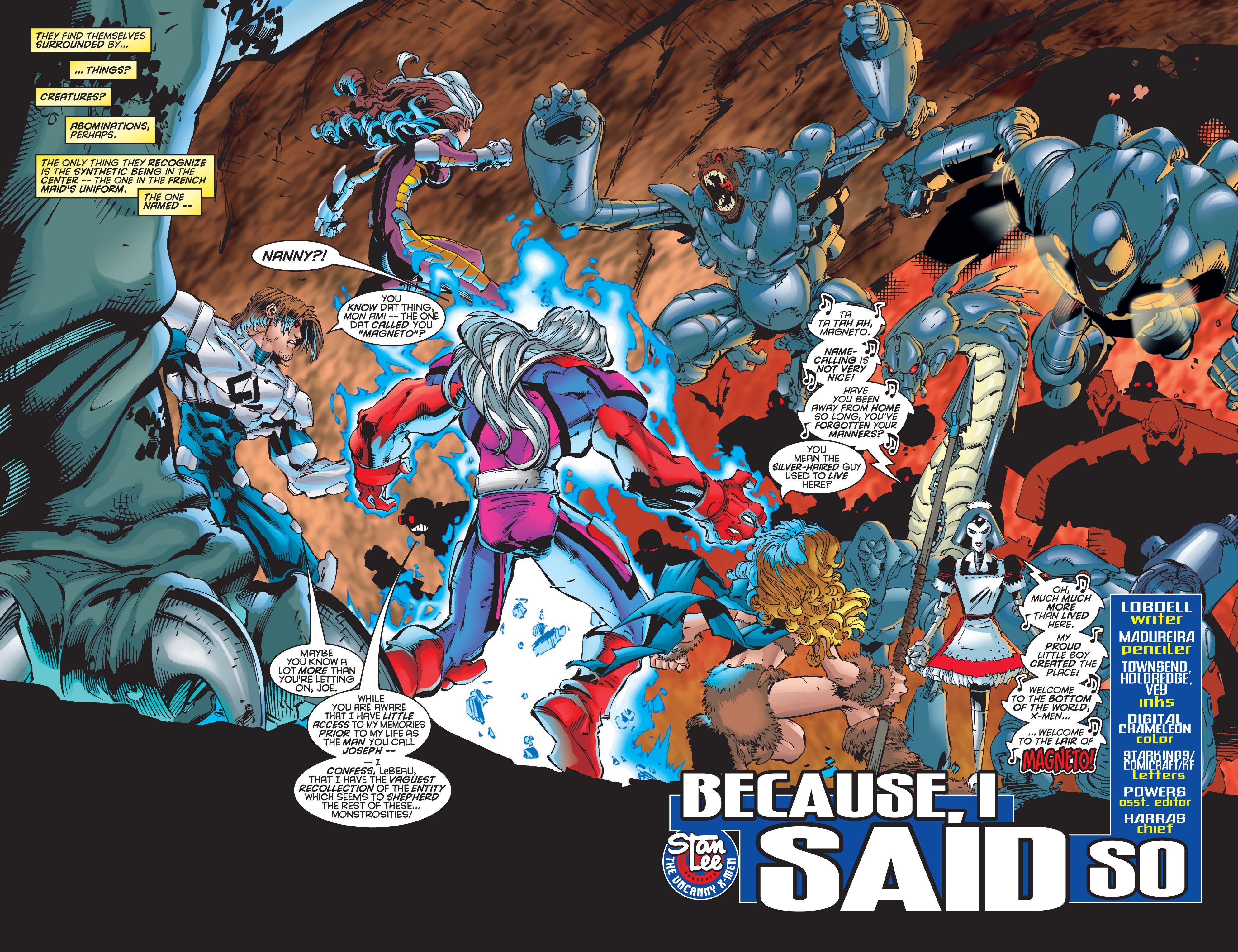 Read online Uncanny X-Men (1963) comic -  Issue #348 - 3