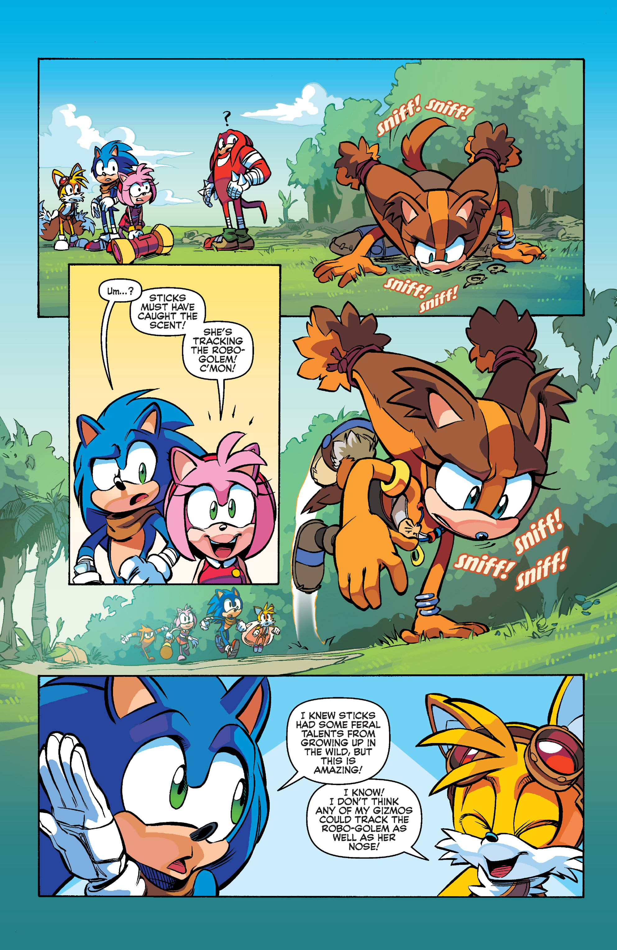 Read online Sonic Boom comic -  Issue #1 - 14
