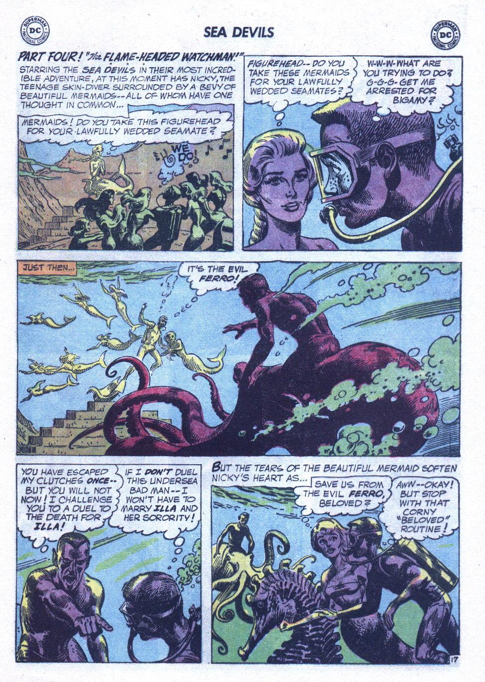 Read online Sea Devils comic -  Issue #6 - 26