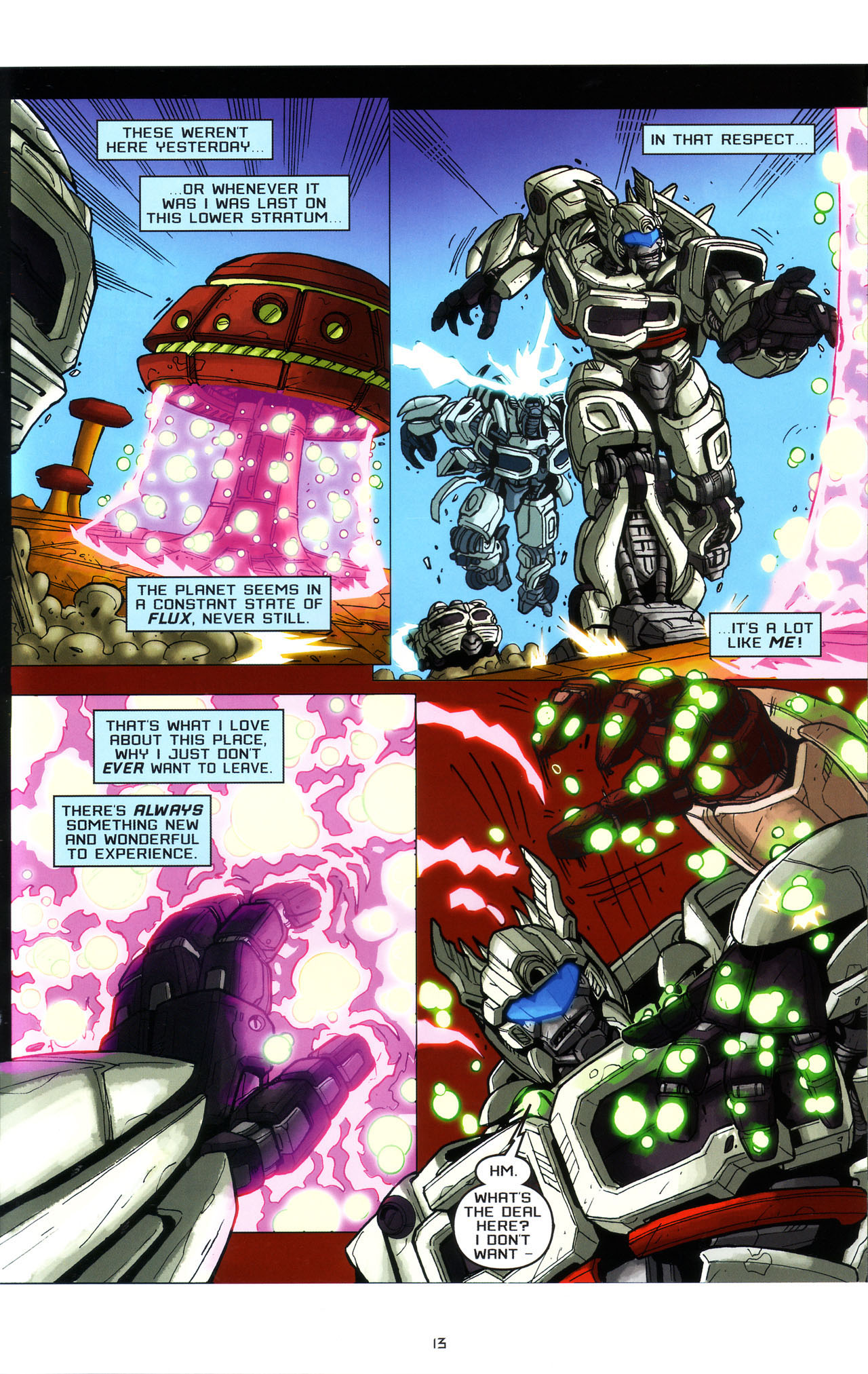 Read online Transformers: Saga of the Allspark comic -  Issue #3 - 16