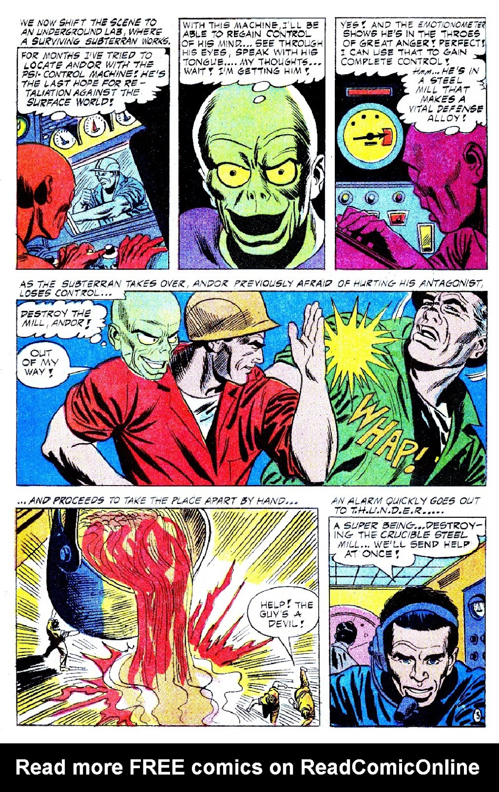 T.H.U.N.D.E.R. Agents (1965) issue 9 - Page 16
