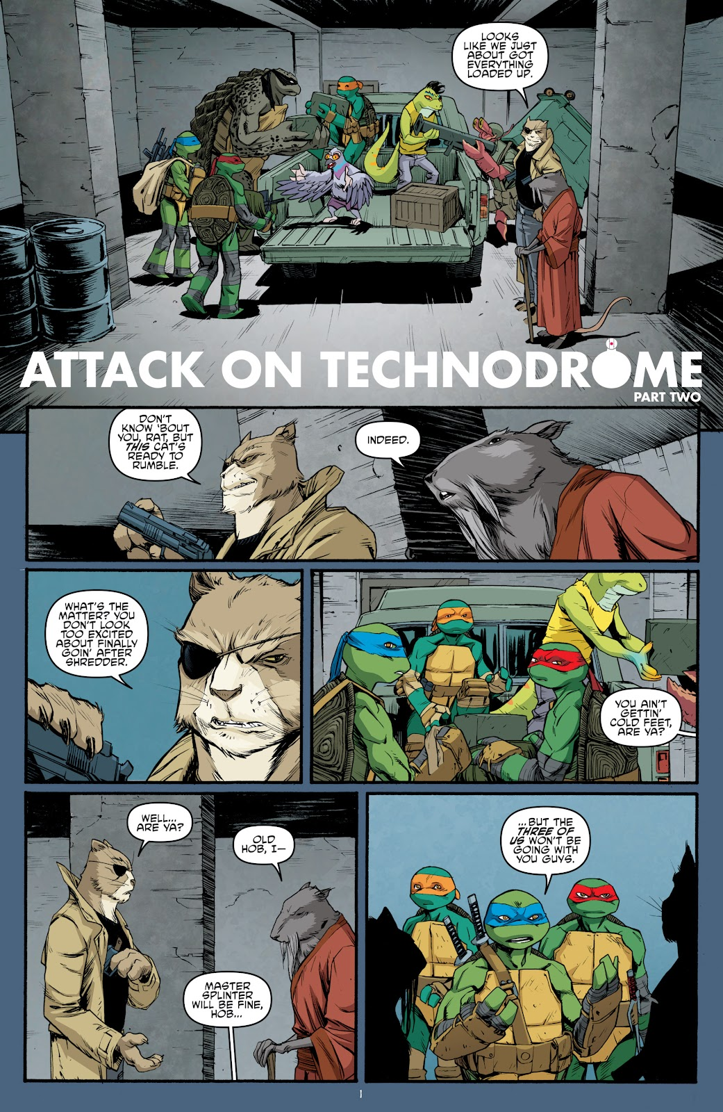 Read online Teenage Mutant Ninja Turtles: The IDW Collection comic -  Issue # TPB 5 (Part 3) - 87