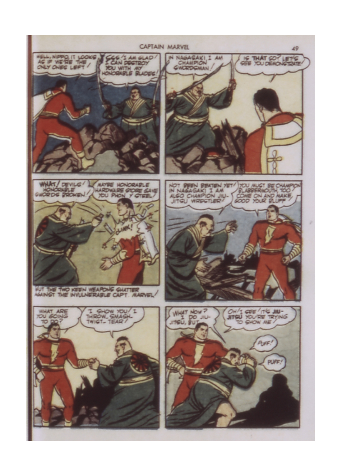 Captain Marvel Adventures issue 9 - Page 49