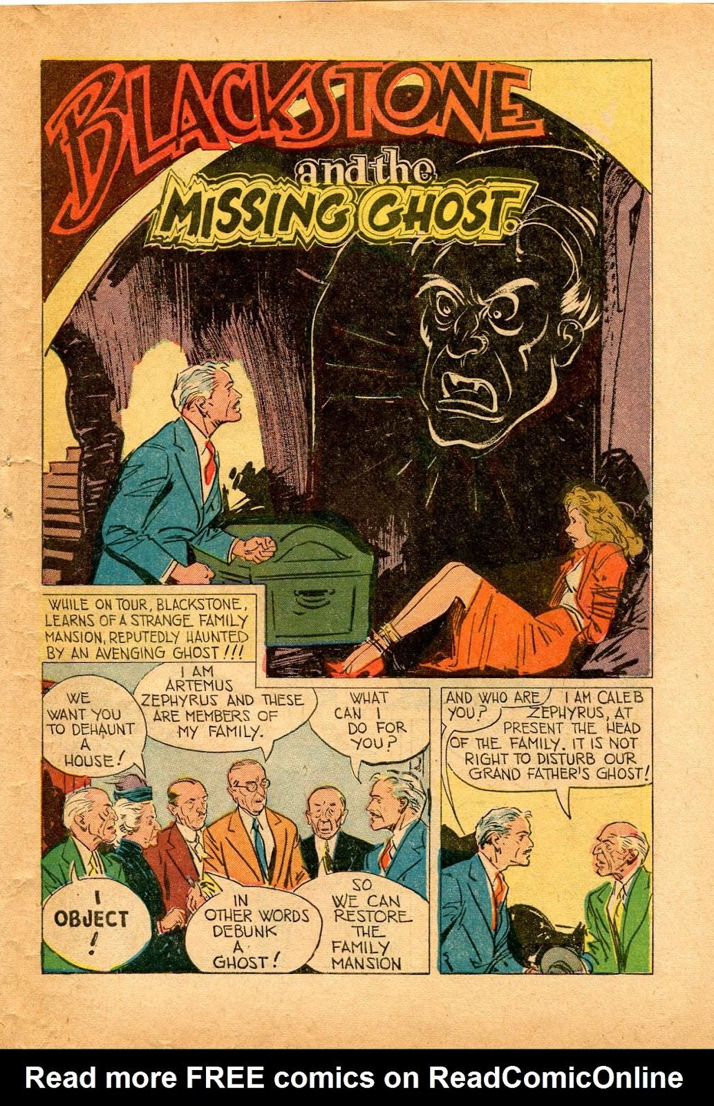 Read online Super-Magician Comics comic -  Issue #33 - 39