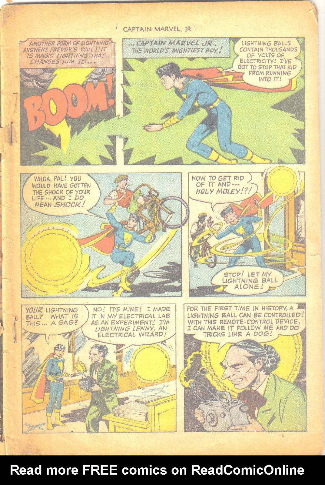 Captain Marvel, Jr. issue 95 - Page 4