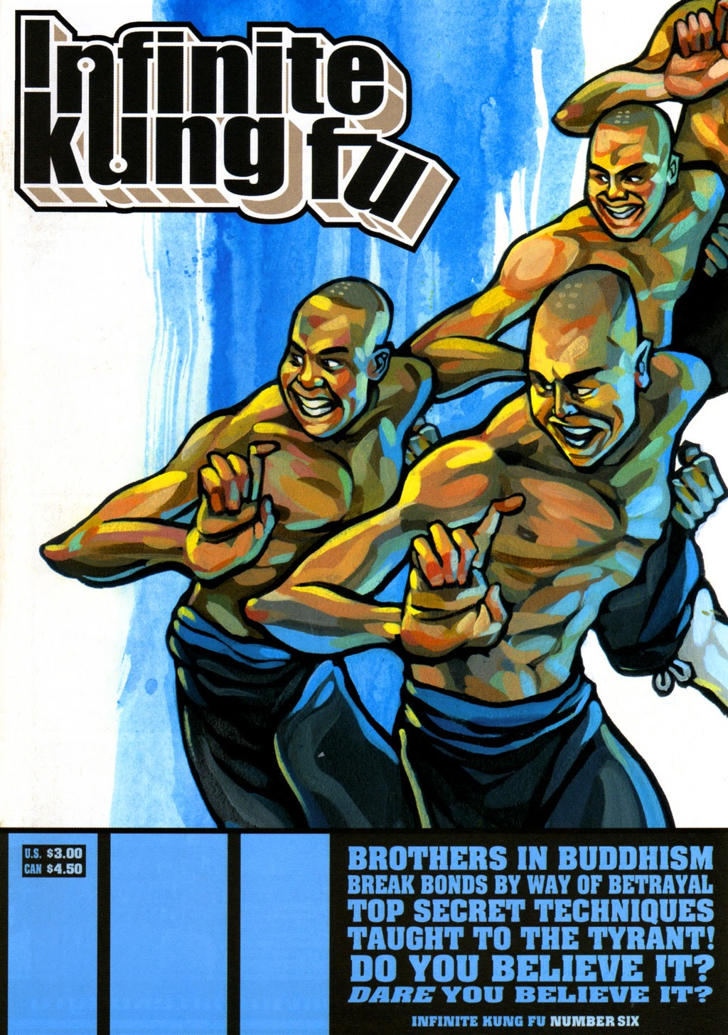 Infinite Kung Fu issue 6 - Page 1