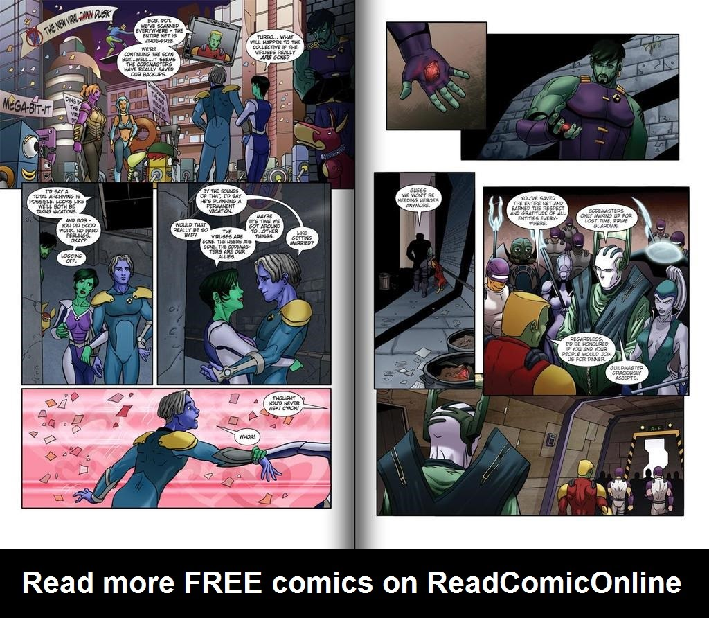 Read online ReBoot: Paradigms Lost comic -  Issue # Full - 12