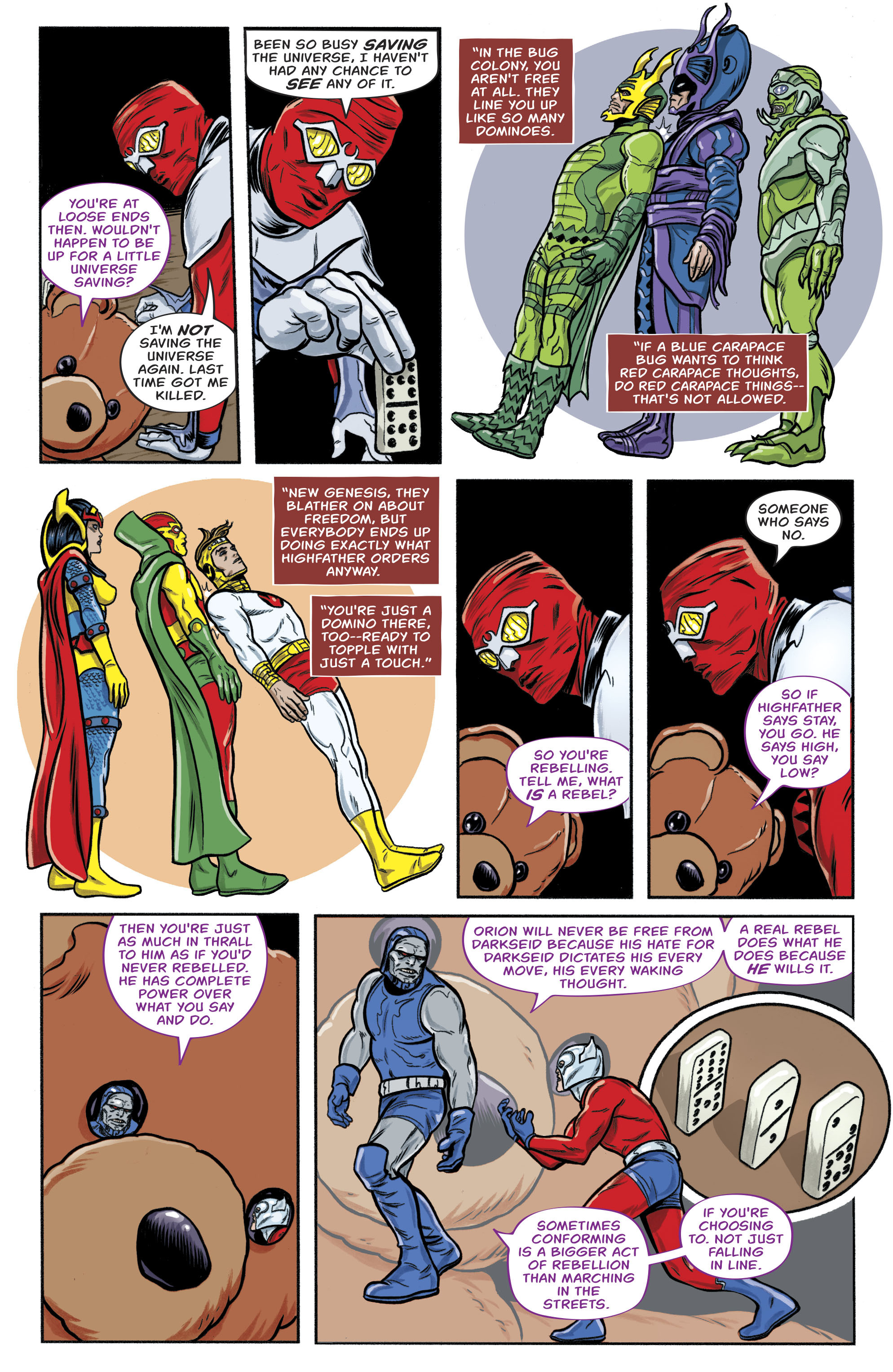 Read online Bug! The Adventures of Forager comic -  Issue #1 - 12