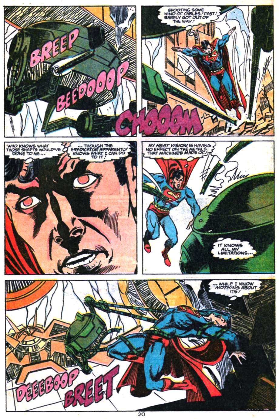 Read online Adventures of Superman (1987) comic -  Issue #460 - 21