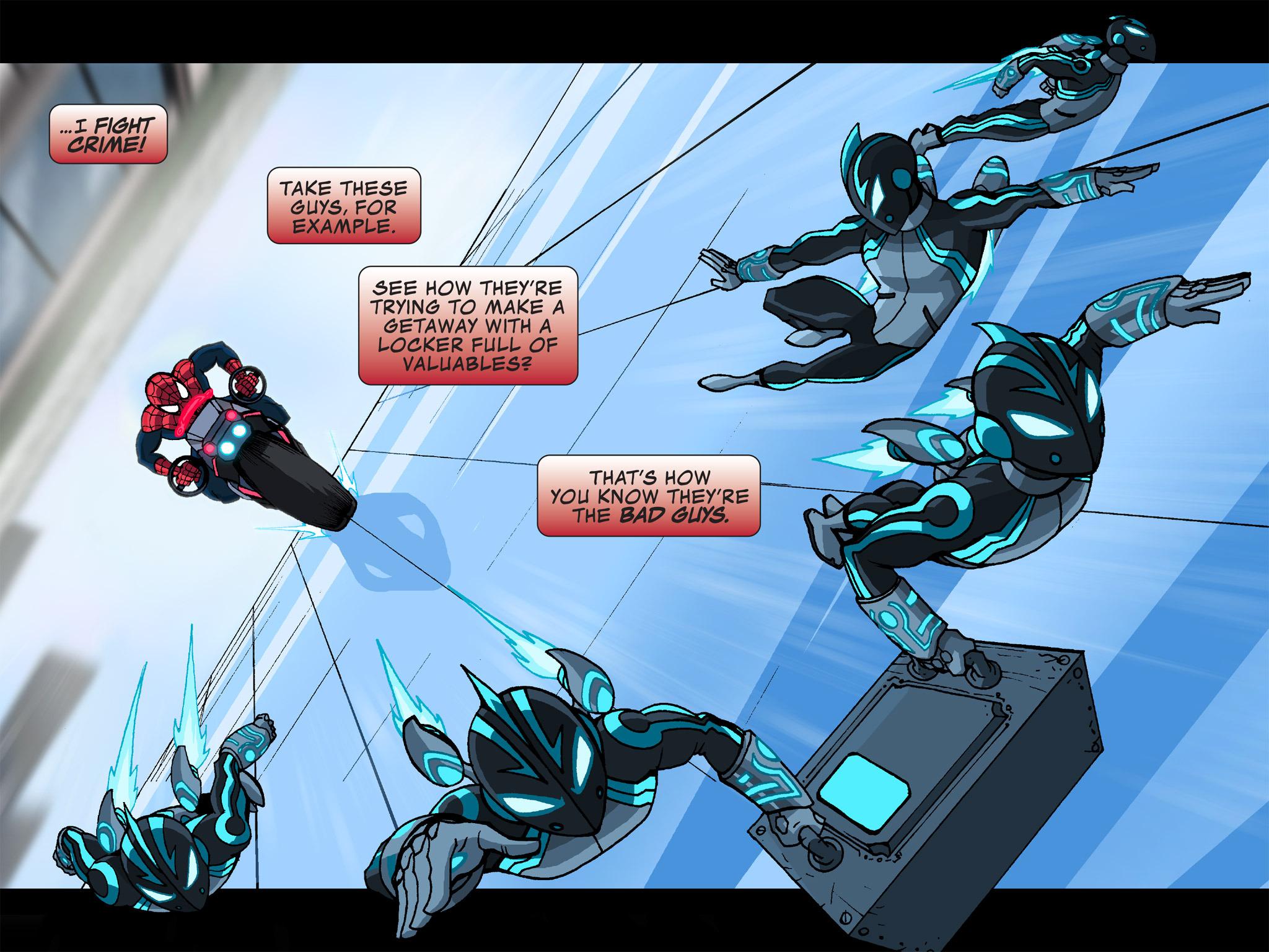 Read online Ultimate Spider-Man (Infinite Comics) (2015) comic -  Issue #12 - 6