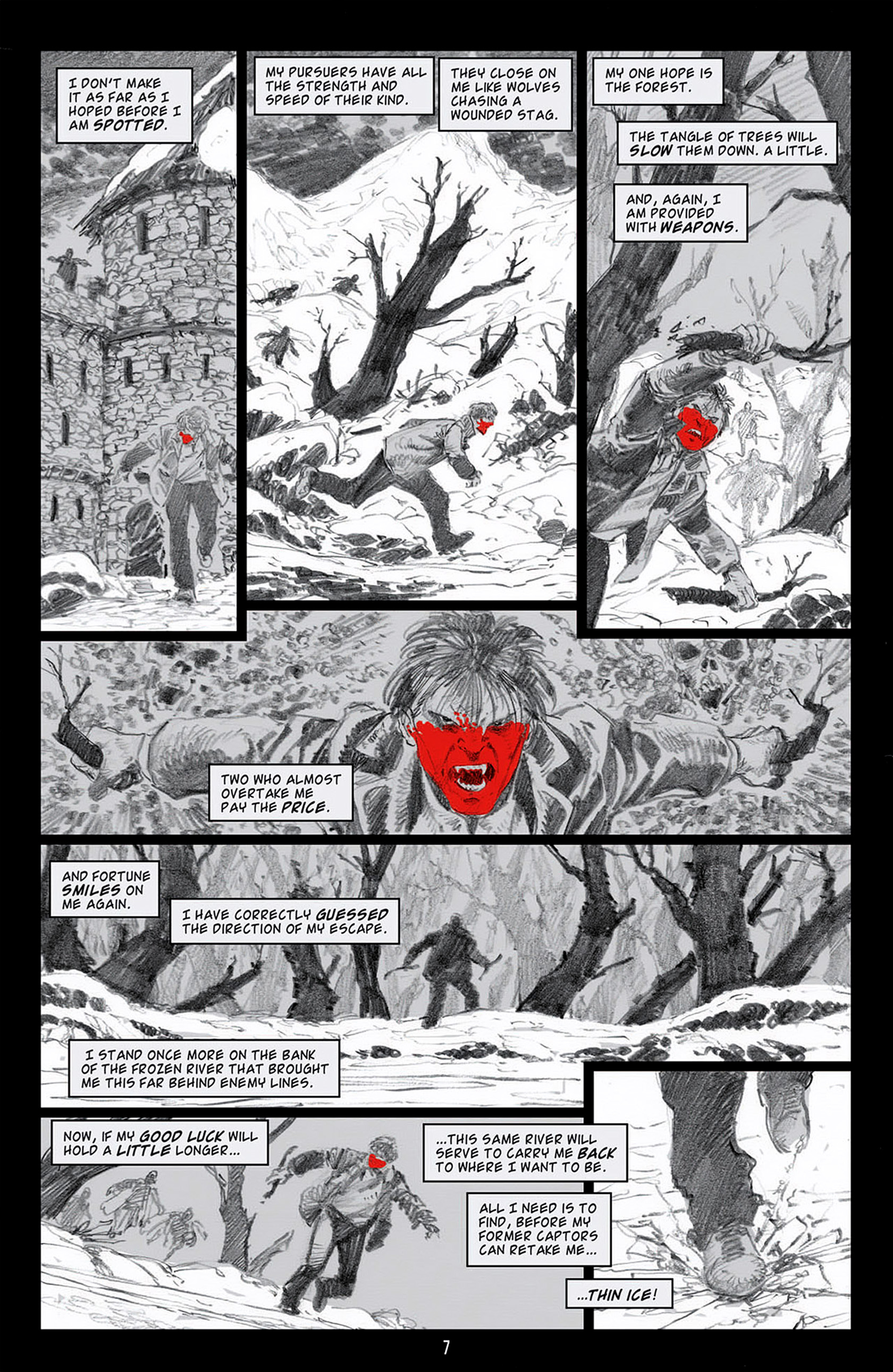 Read online Angel: Blood & Trenches comic -  Issue #4 - 10