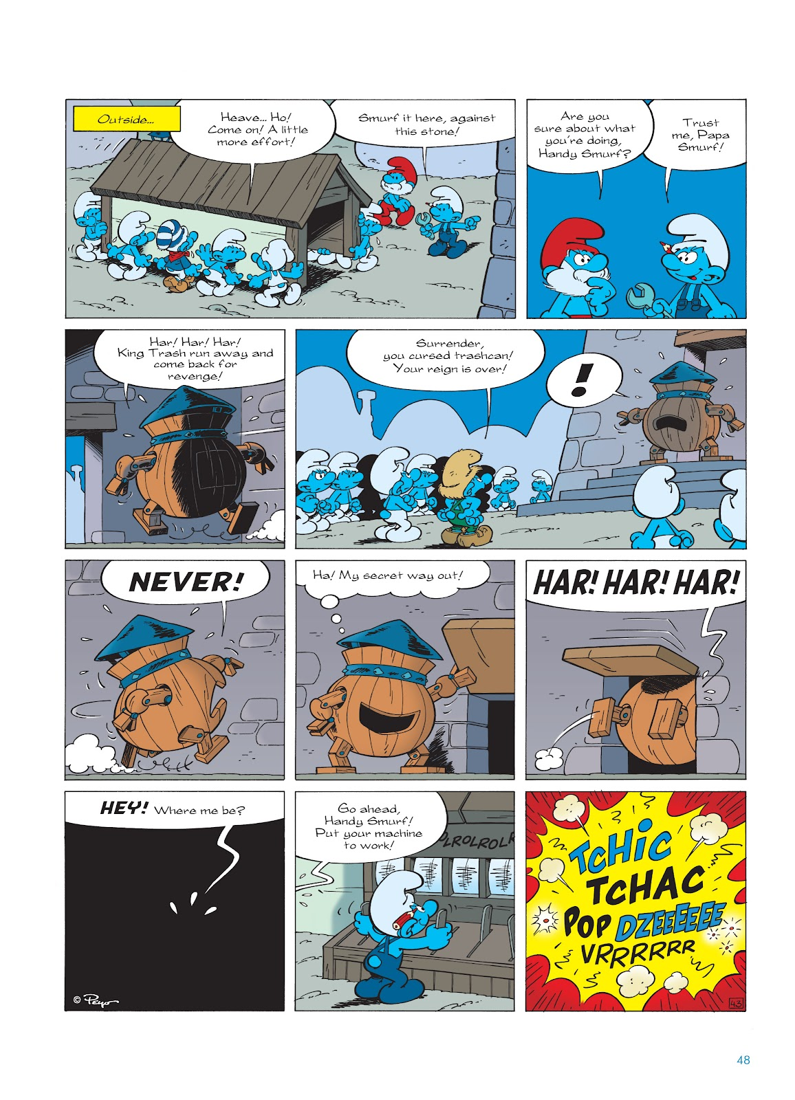 Read online The Smurfs comic -  Issue #23 - 48