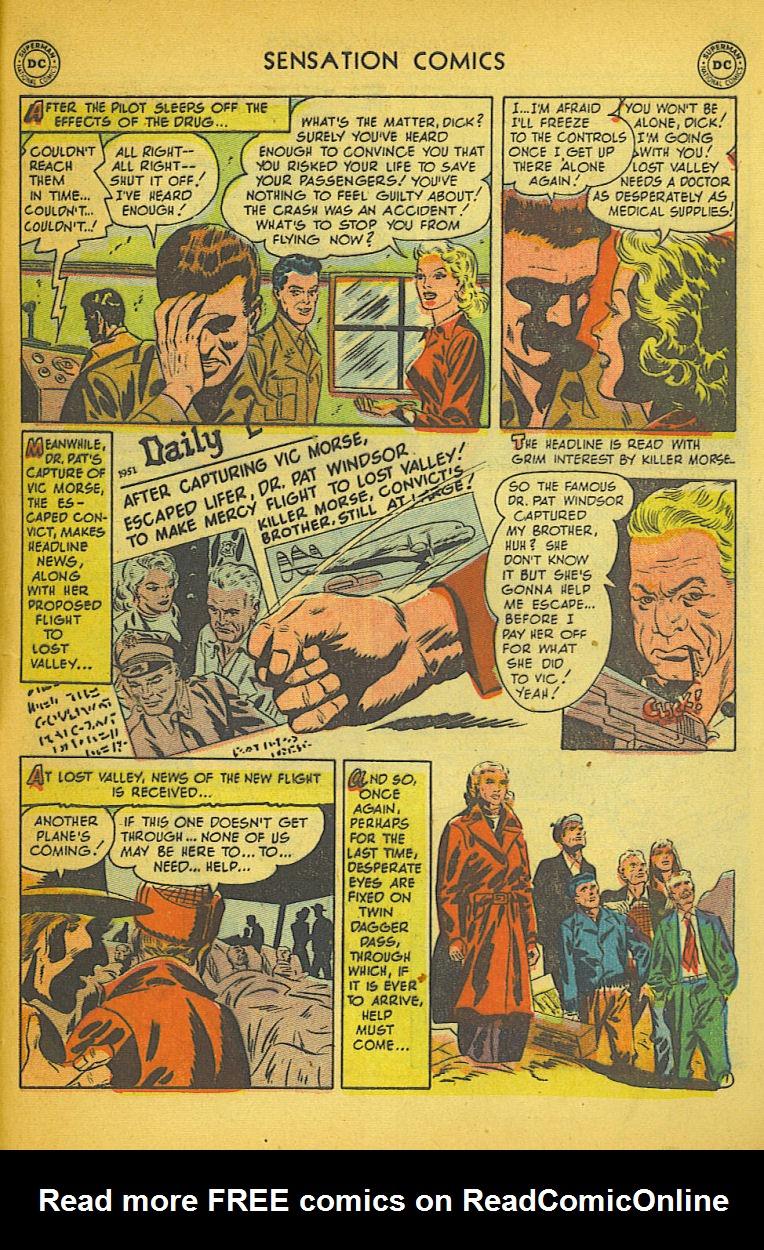 Read online Sensation (Mystery) Comics comic -  Issue #104 - 47
