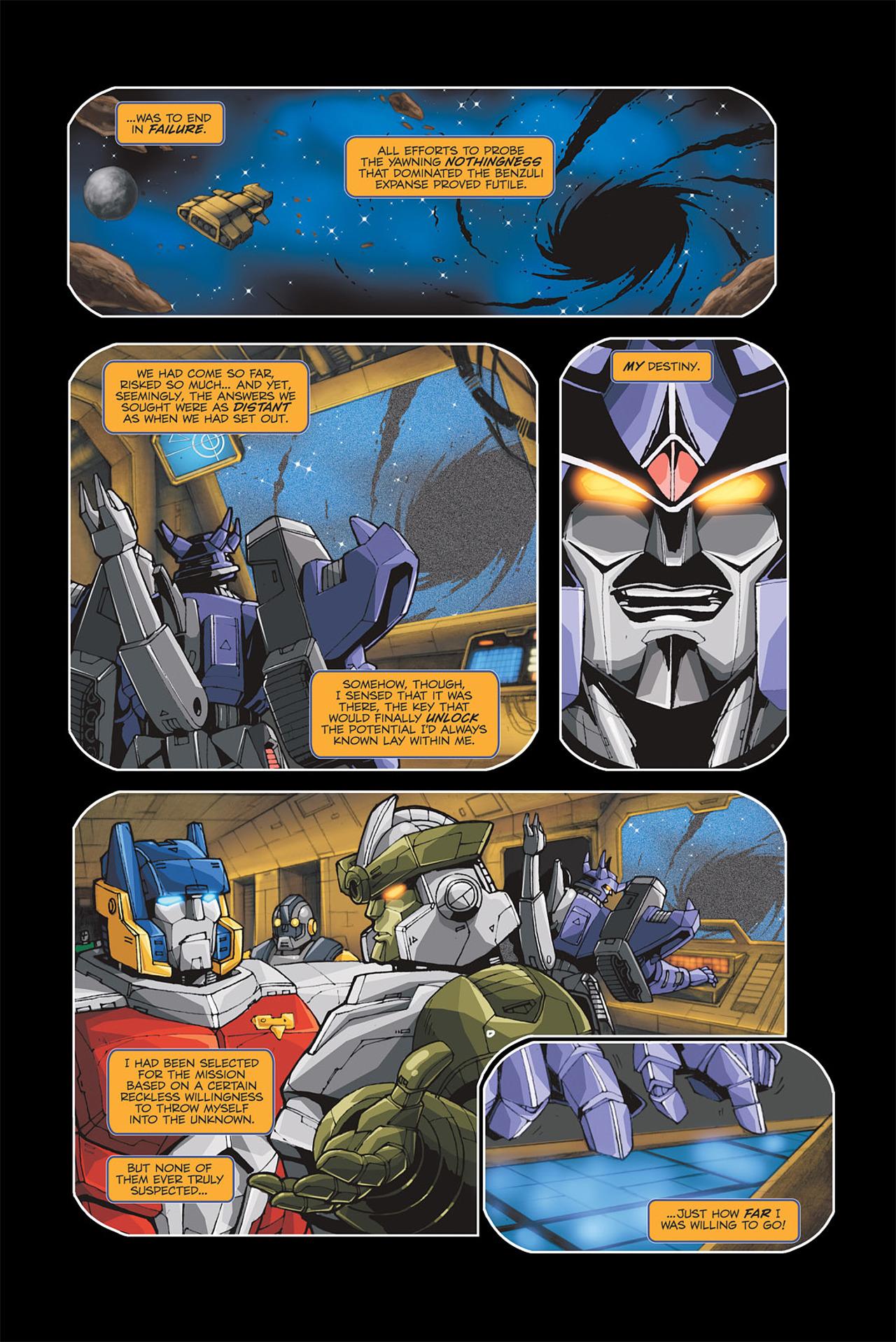 Read online Transformers Spotlight: Galvatron comic -  Issue # Full - 16