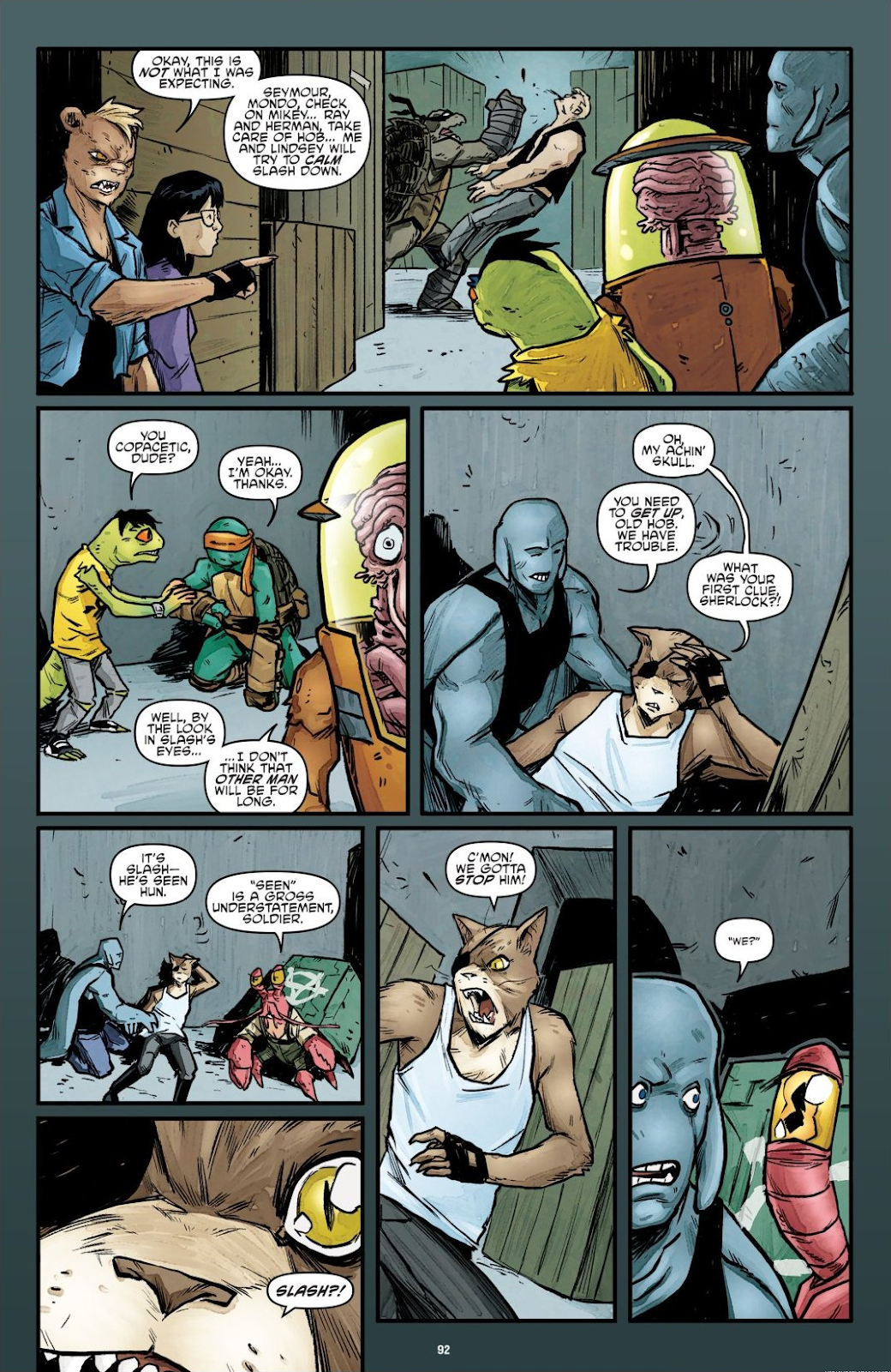 Read online Teenage Mutant Ninja Turtles: The IDW Collection comic -  Issue # TPB 7 (Part 1) - 90