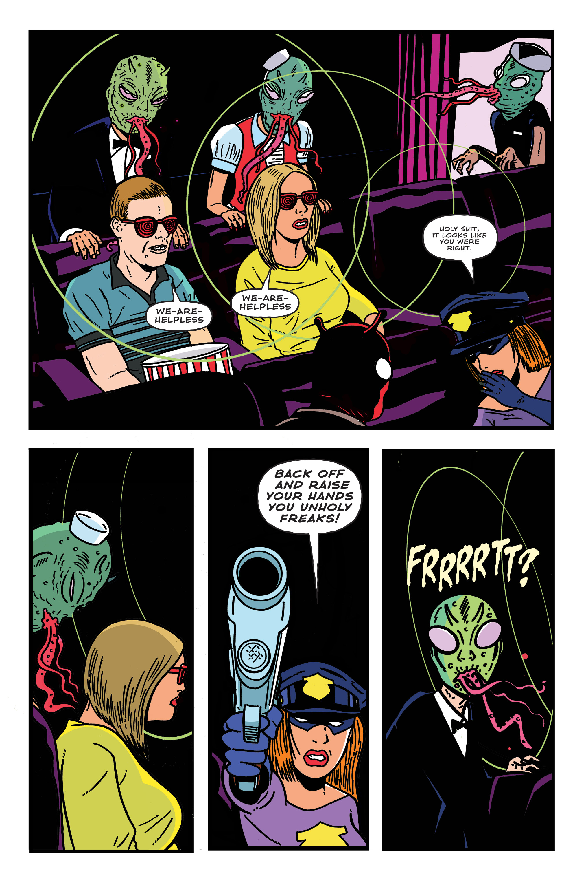 Read online Bulletproof Coffin: The Thousand Yard Stare comic -  Issue # Full - 17