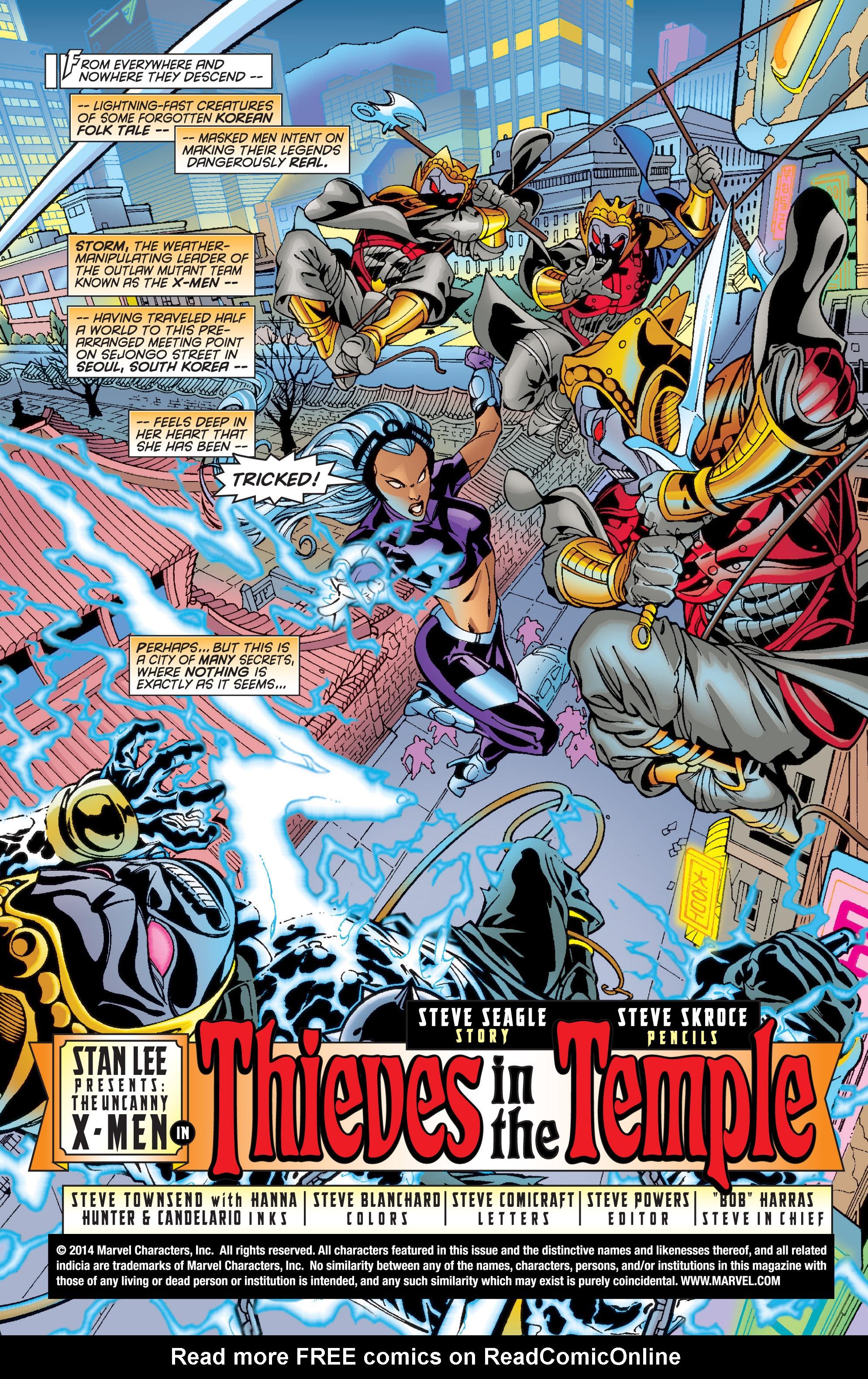 Read online Uncanny X-Men (1963) comic -  Issue #361 - 2