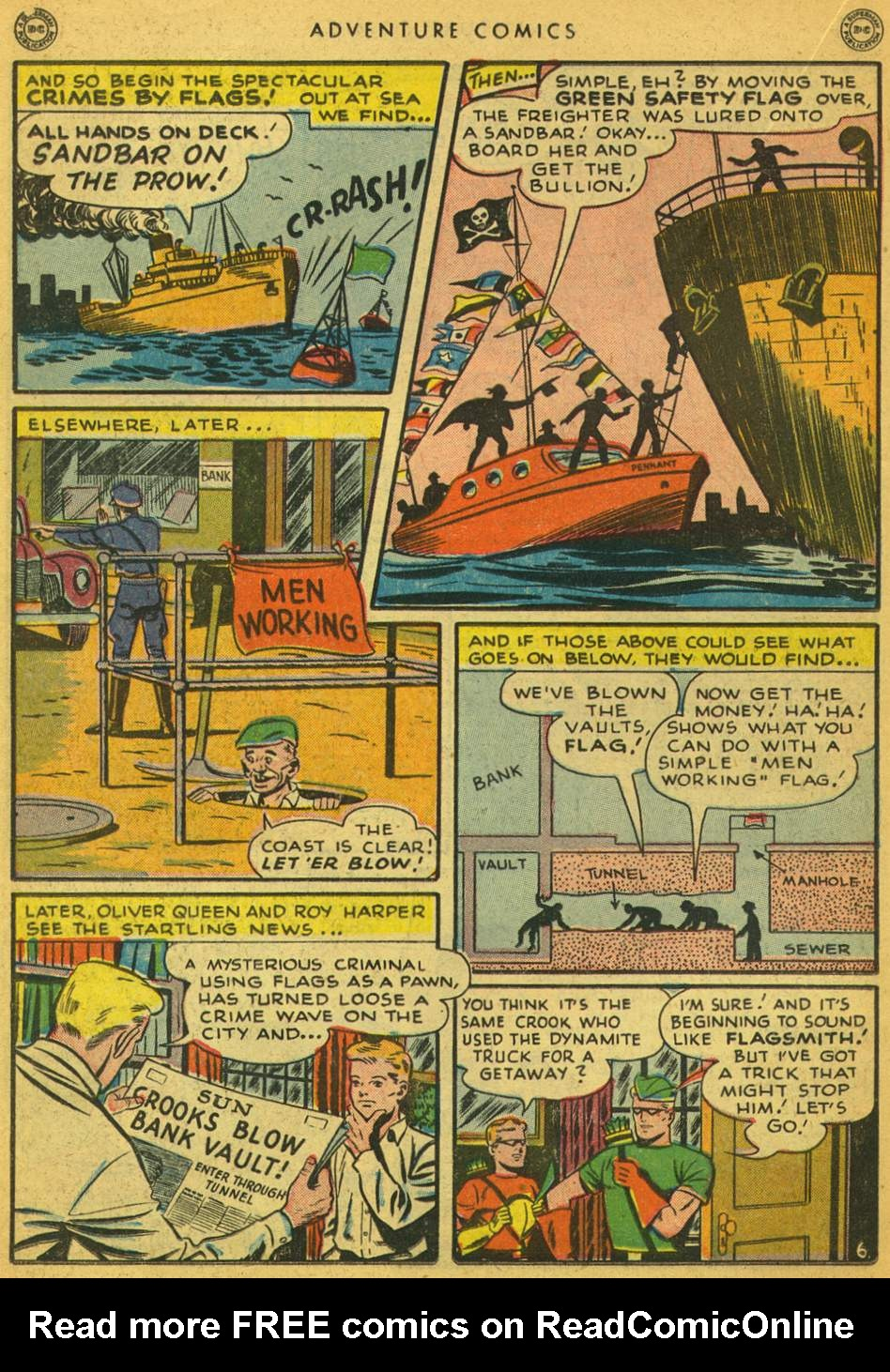 Read online Adventure Comics (1938) comic -  Issue #128 - 19