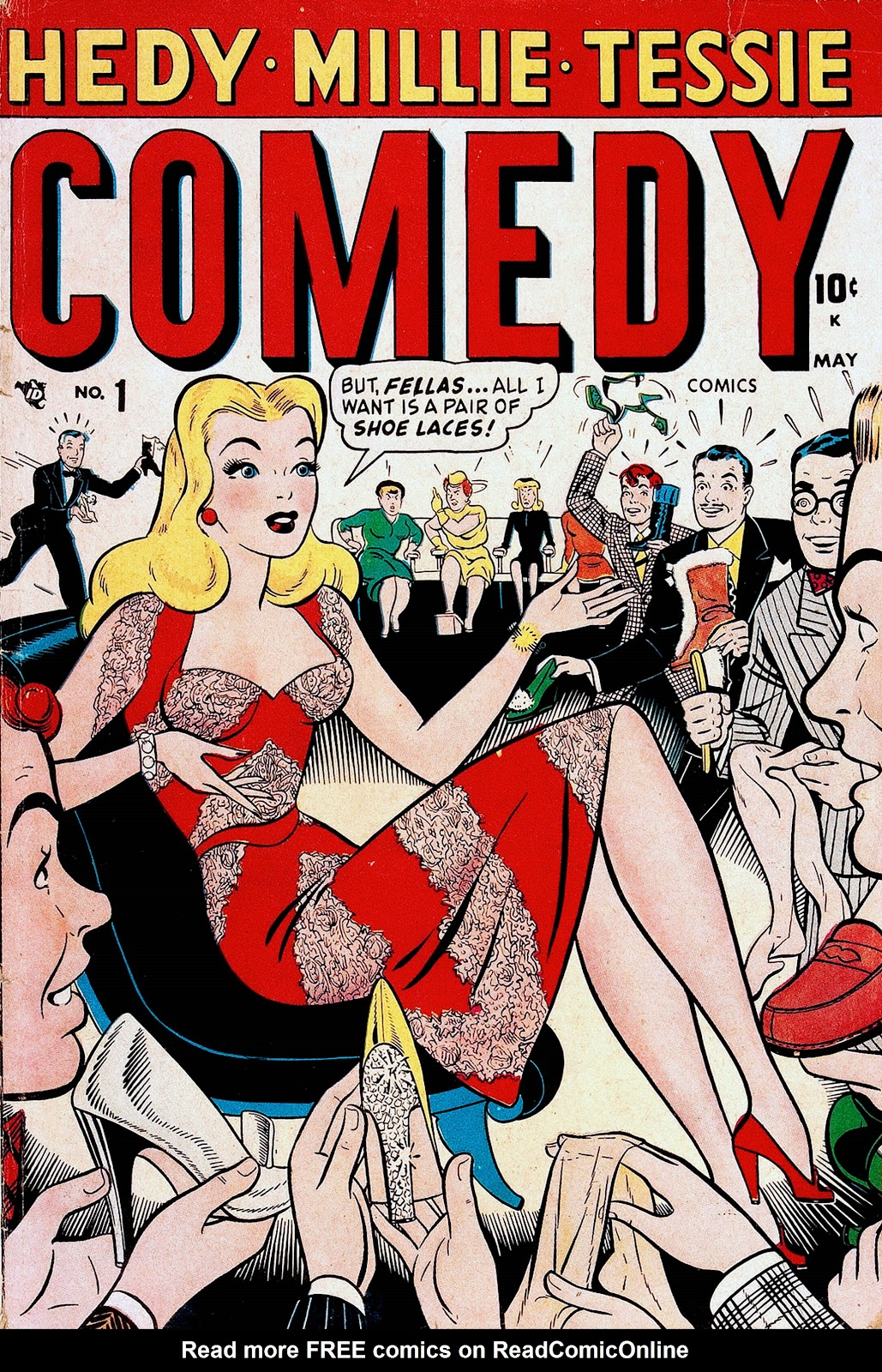 Read online Comedy Comics (1948) comic -  Issue #1 - 1
