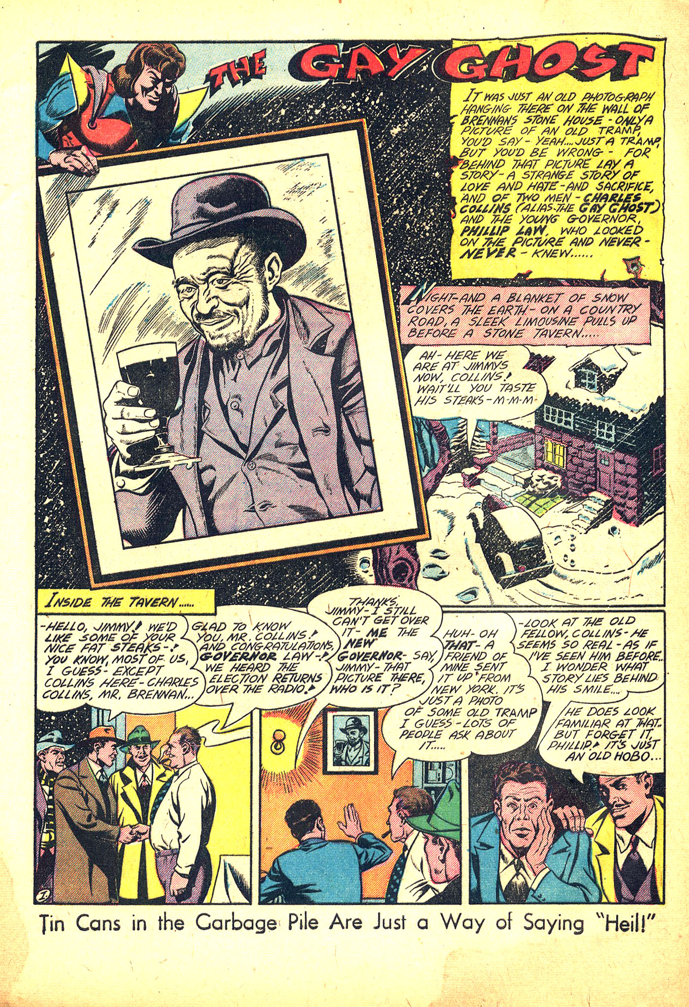 Read online Sensation (Mystery) Comics comic -  Issue #31 - 17