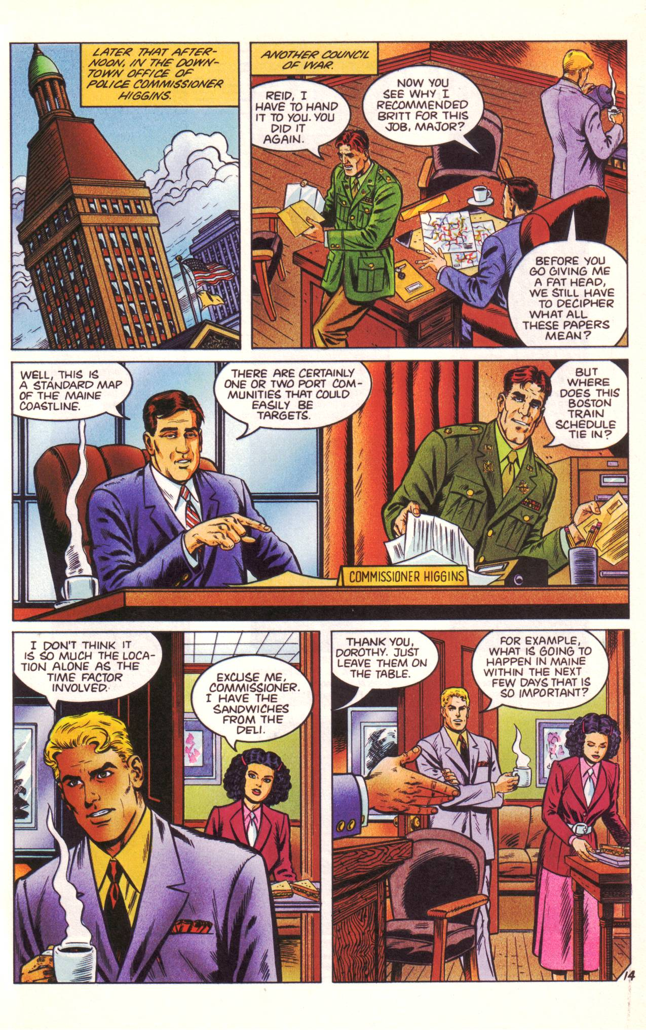 Read online Sting of The Green Hornet comic -  Issue #3 - 15