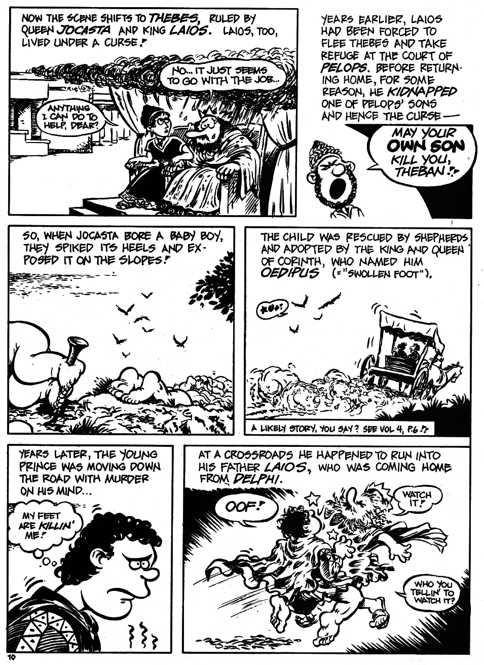 Read online The Cartoon History of the Universe comic -  Issue #5 - 12