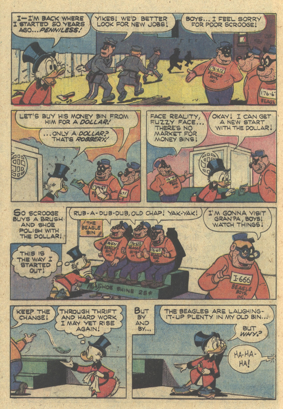 Read online Uncle Scrooge (1953) comic -  Issue #168 - 12