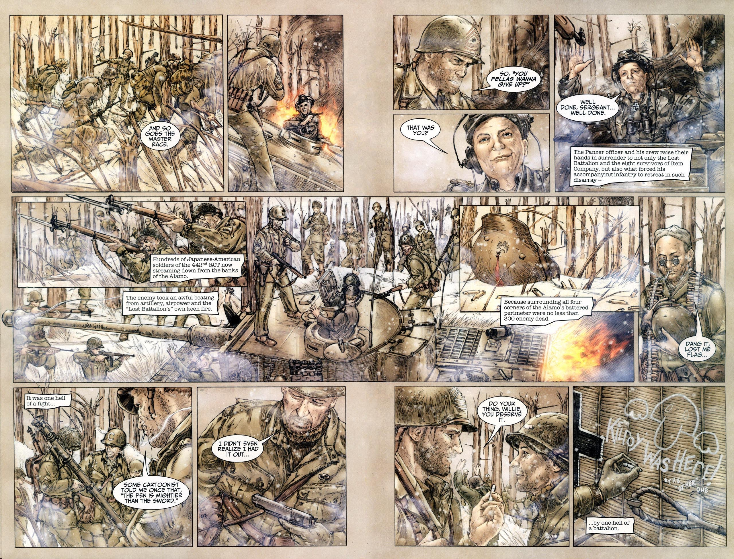Read online Sgt. Rock: The Lost Battalion comic -  Issue #6 - 12