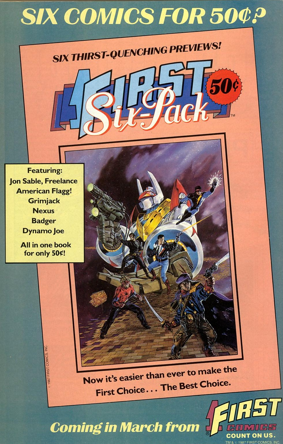 Read online American Flagg! comic -  Issue #41 - 36