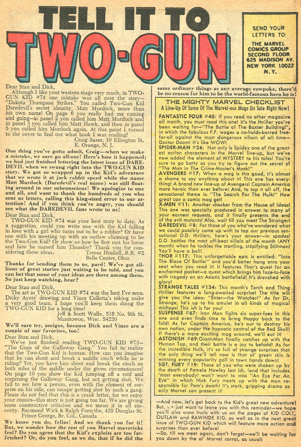 Read online Two-Gun Kid comic -  Issue #76 - 7