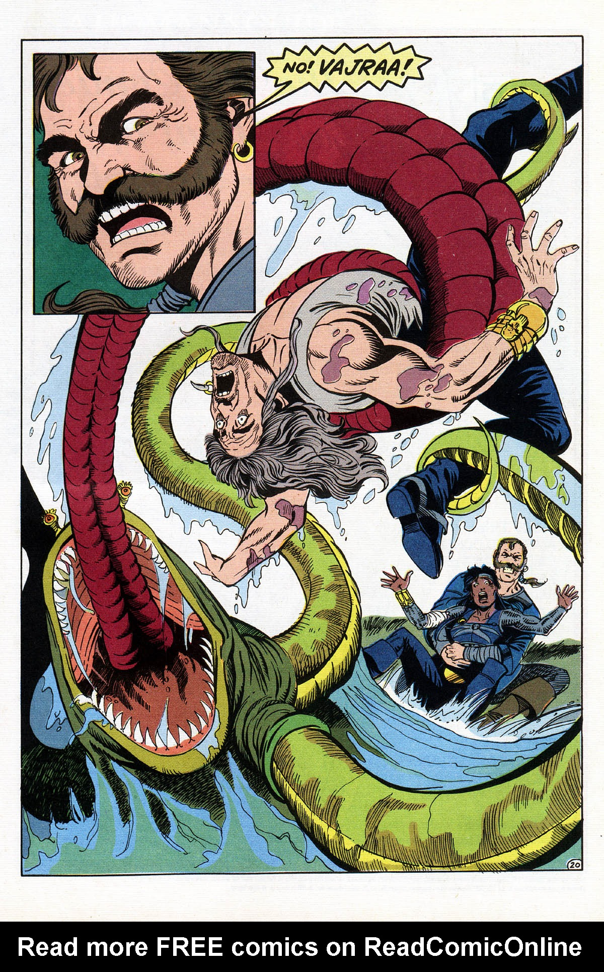 Read online Advanced Dungeons & Dragons comic -  Issue #16 - 24