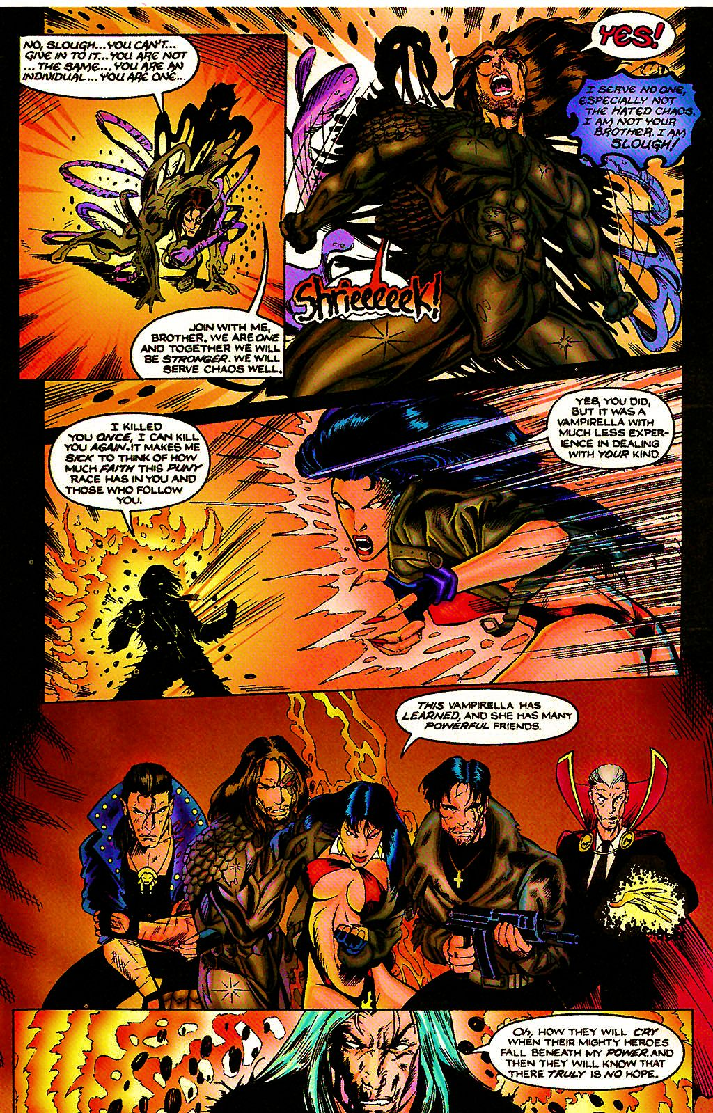 Read online Chains of Chaos comic -  Issue #3 - 26