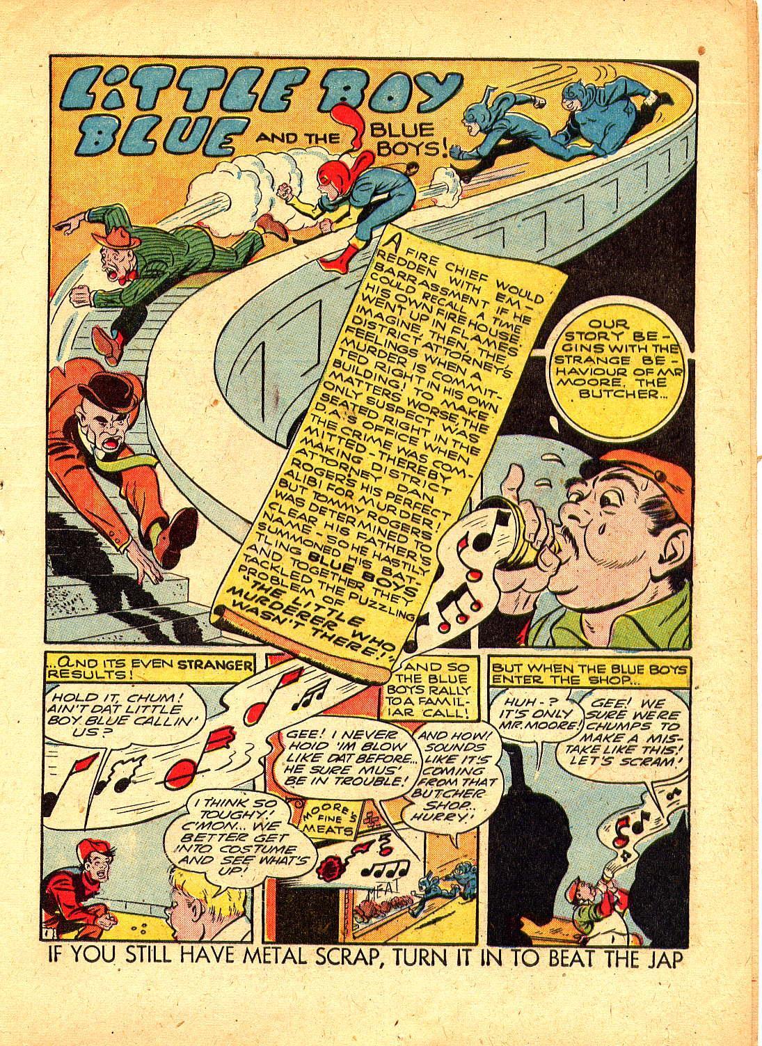 Read online Sensation (Mystery) Comics comic -  Issue #30 - 25
