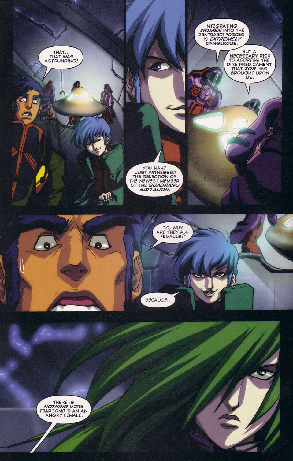 Read online Robotech: Love and War comic -  Issue #2 - 10