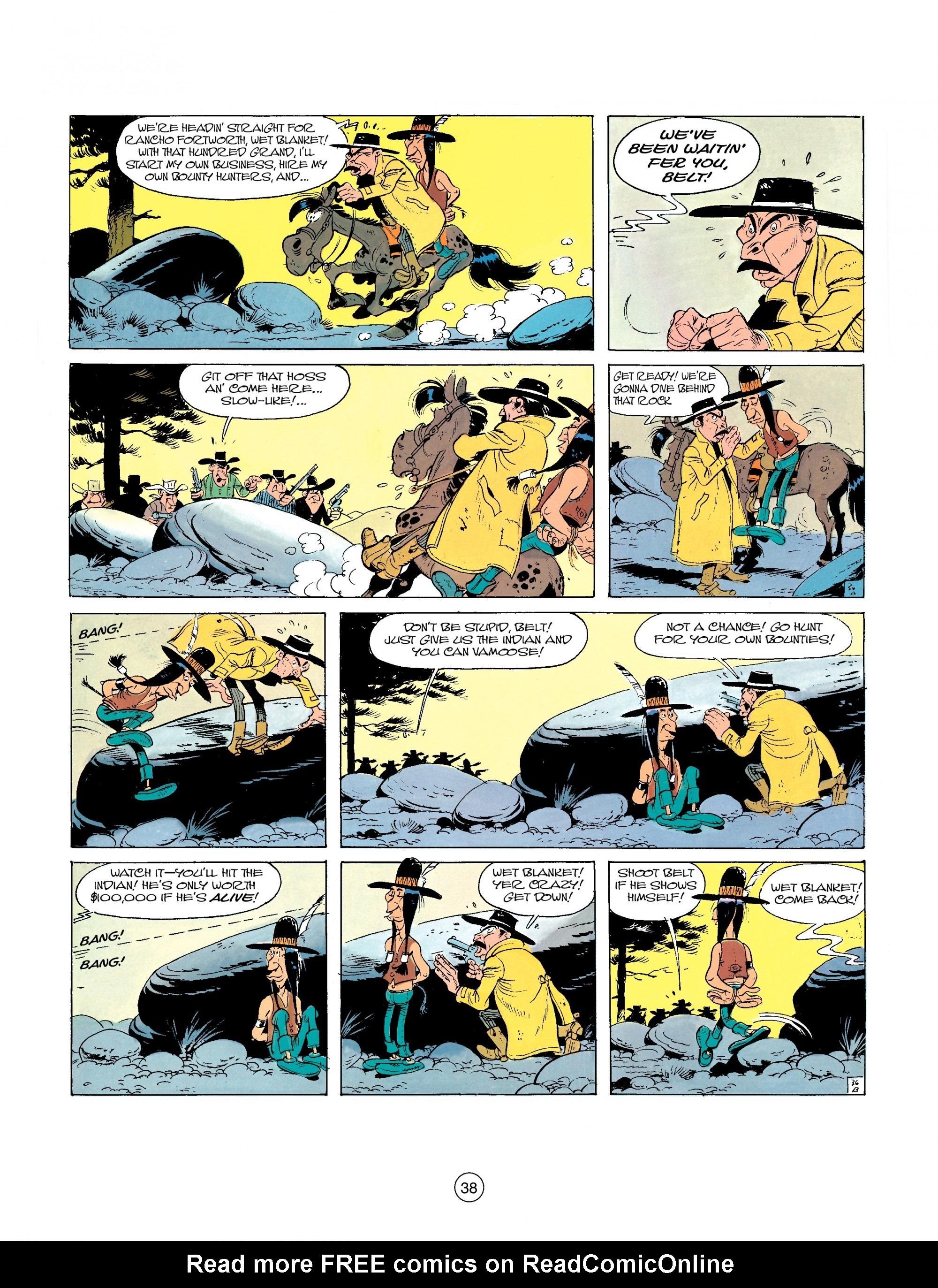 Read online A Lucky Luke Adventure comic -  Issue #26 - 38