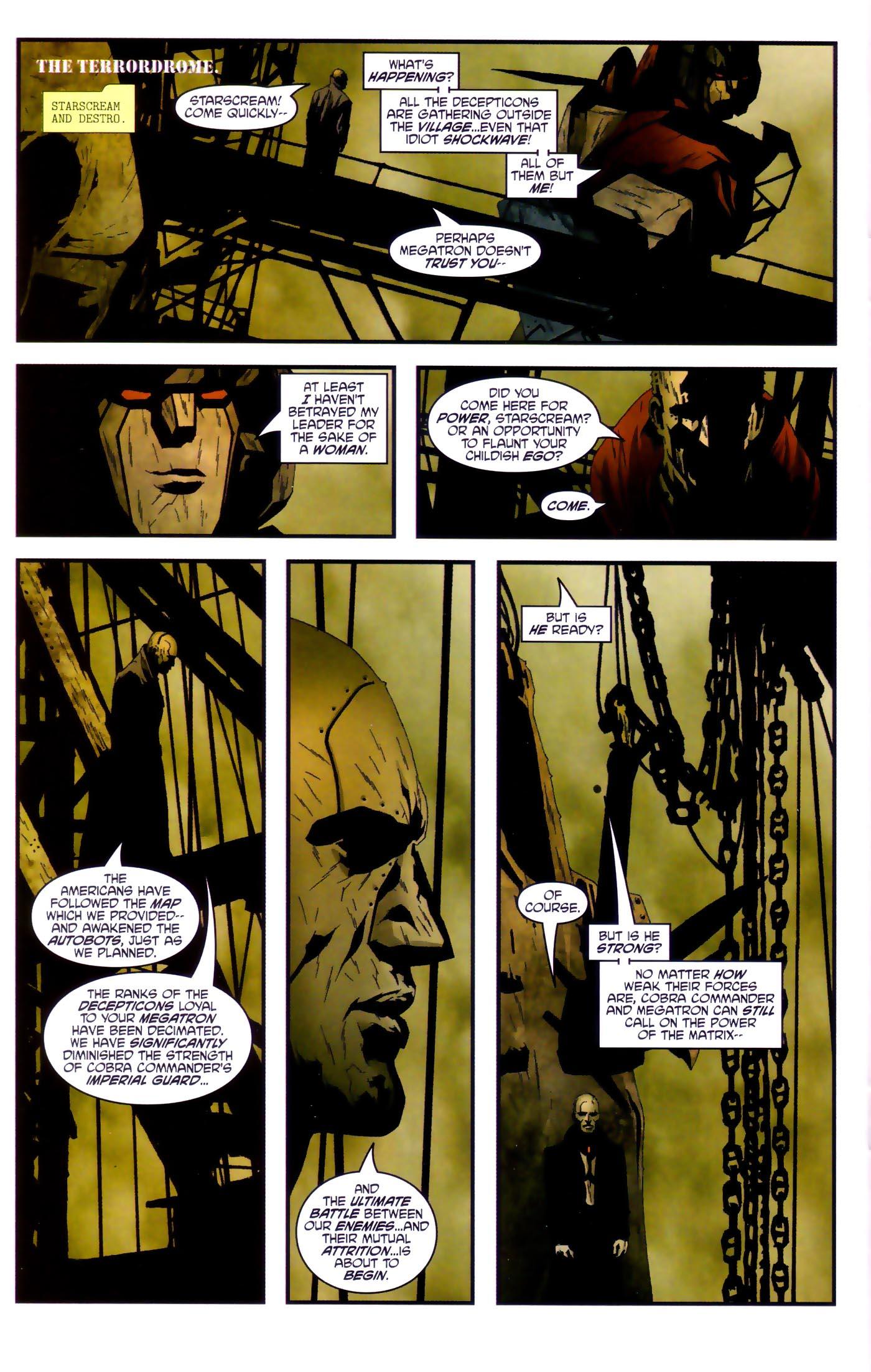 Read online Transformers/G.I. Joe comic -  Issue #4 - 18