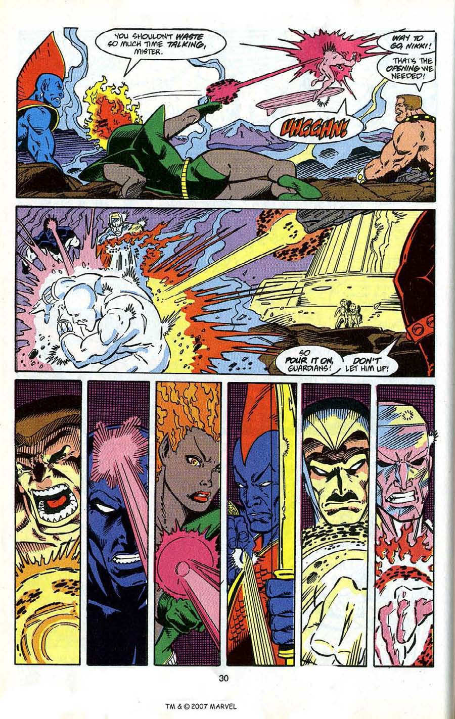 Read online Silver Surfer (1987) comic -  Issue # _Annual 4 - 32