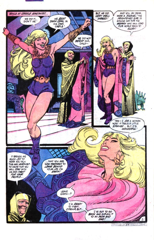 Read online Amethyst, Princess of Gemworld comic -  Issue #4 - 20