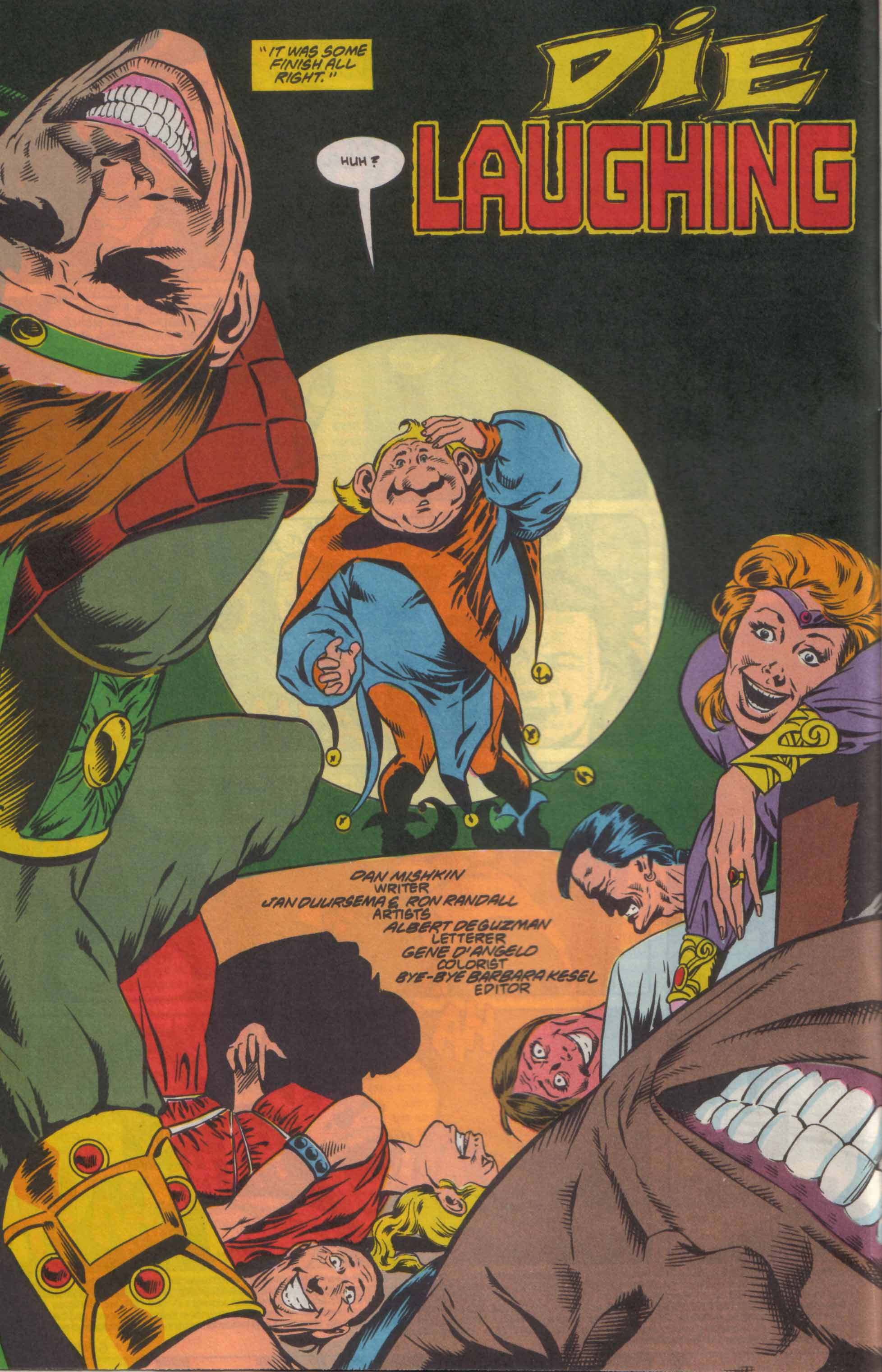 Read online Advanced Dungeons & Dragons comic -  Issue #8 - 3