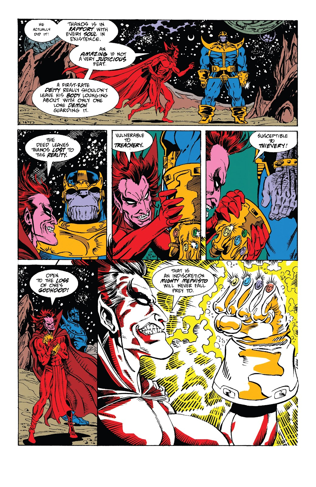 Read online Marvel Tales: Thanos comic -  Issue # Full - 43