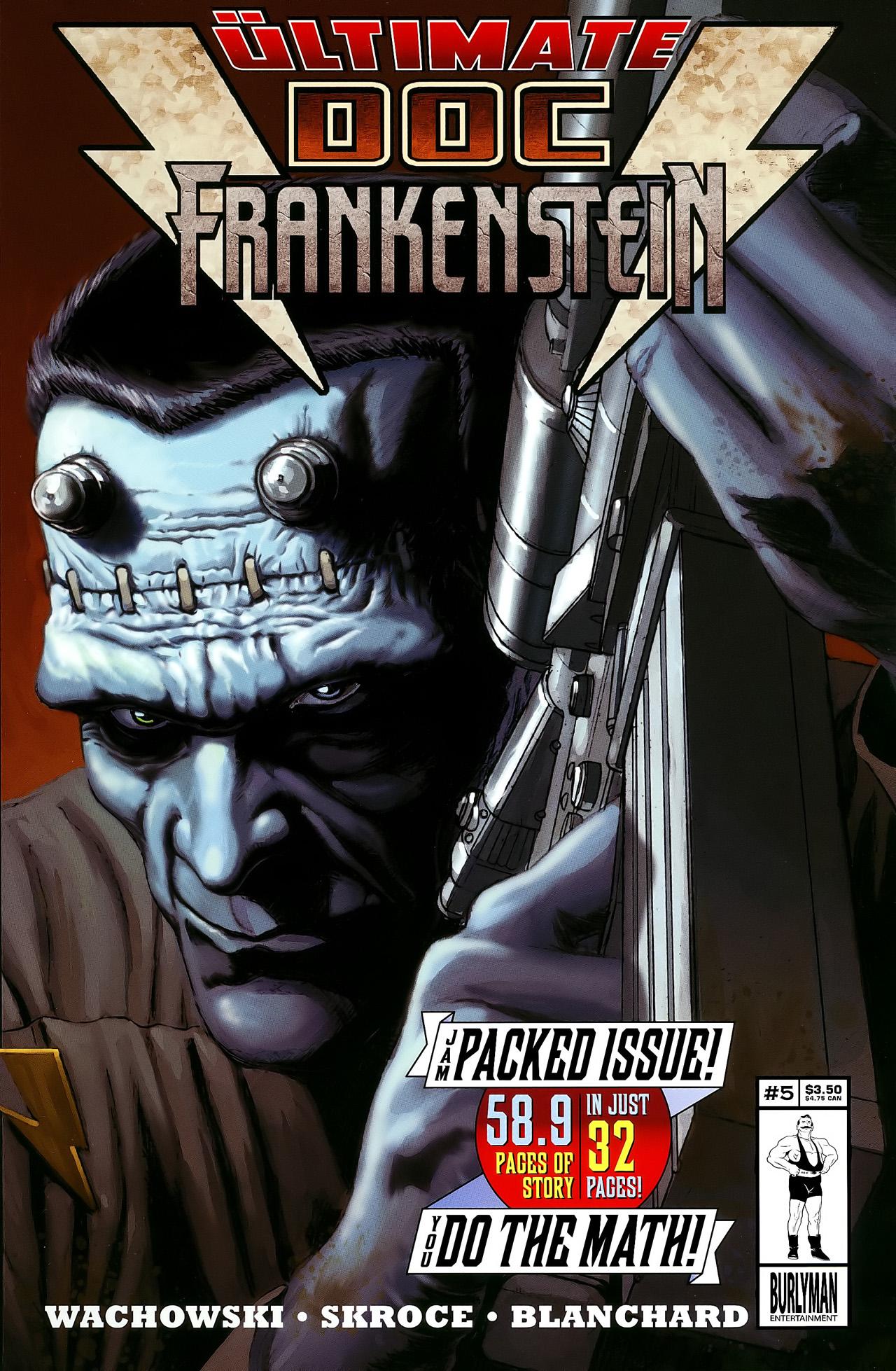 Doc Frankenstein 5 Page 1